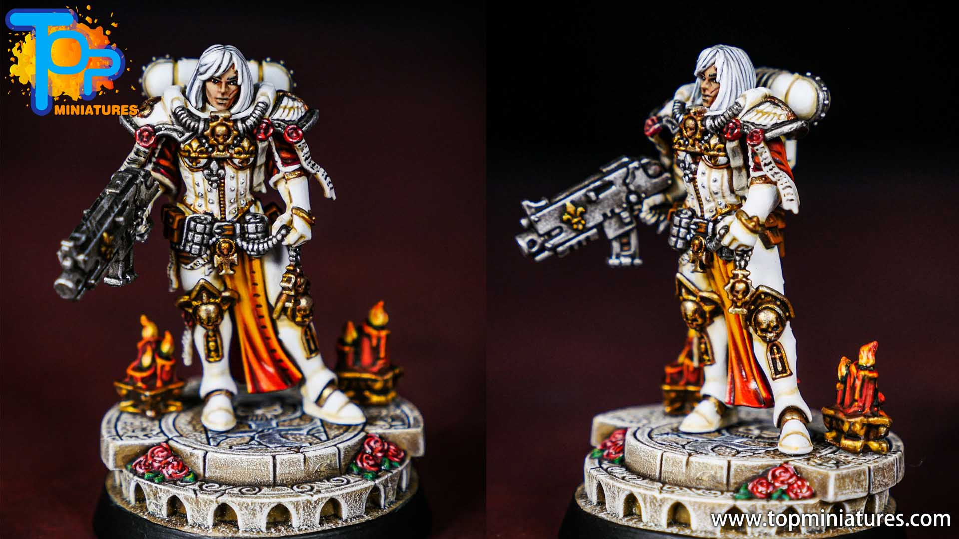 amalia novena painted by Top Miniatures
