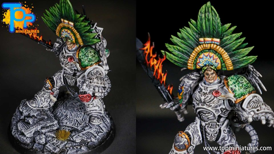 Aztec Roboute Guilliman conversion