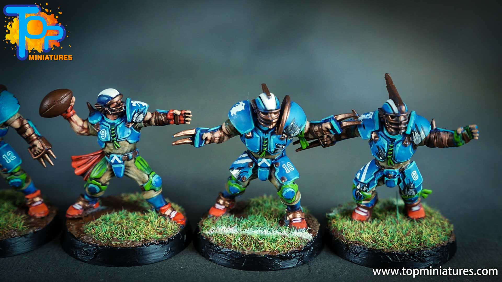 blood bowl painted reikland reavers (7)