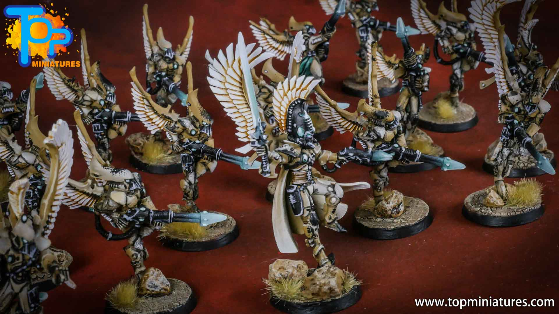 eldar painted autarch (2)