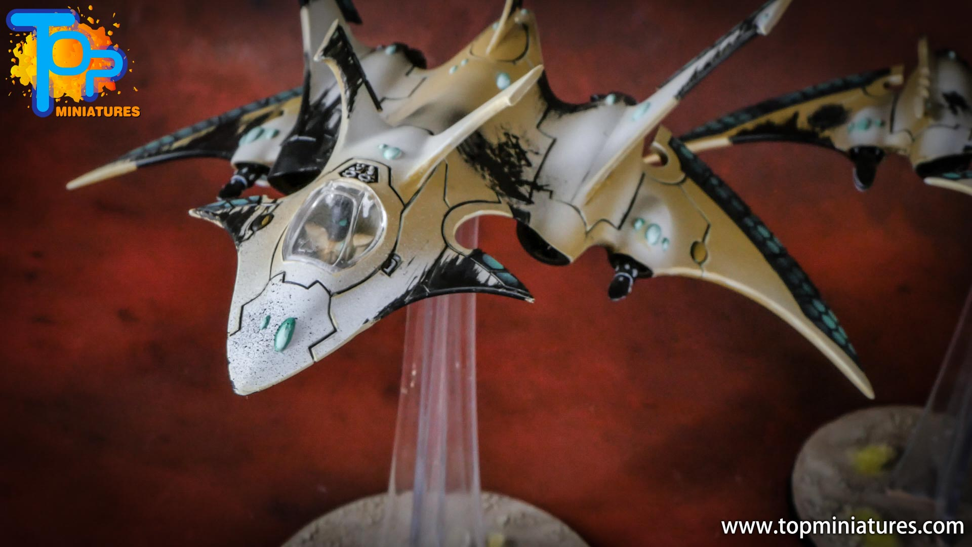 eldar painted crimson hunter