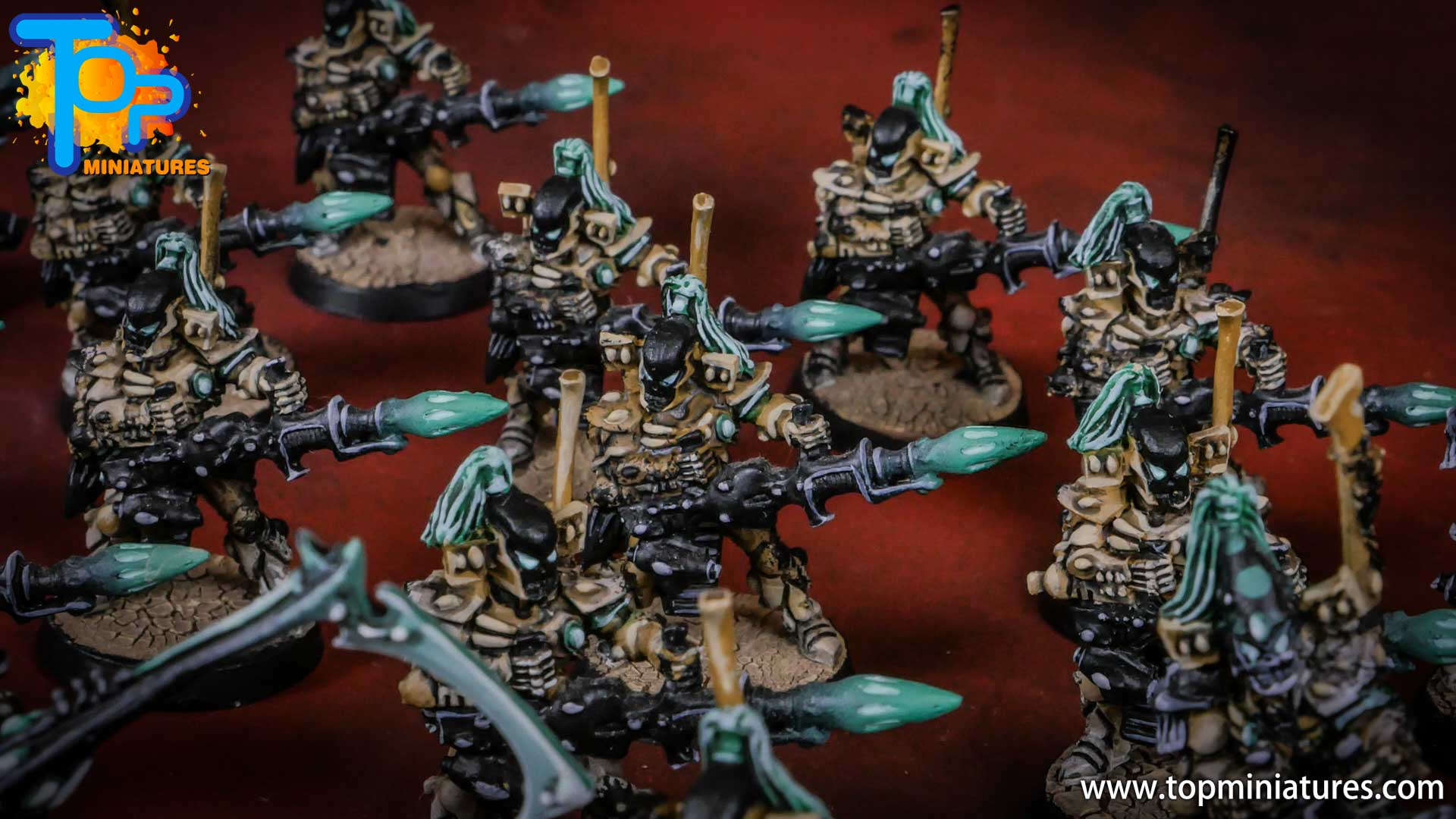 eldar painted dark reapers