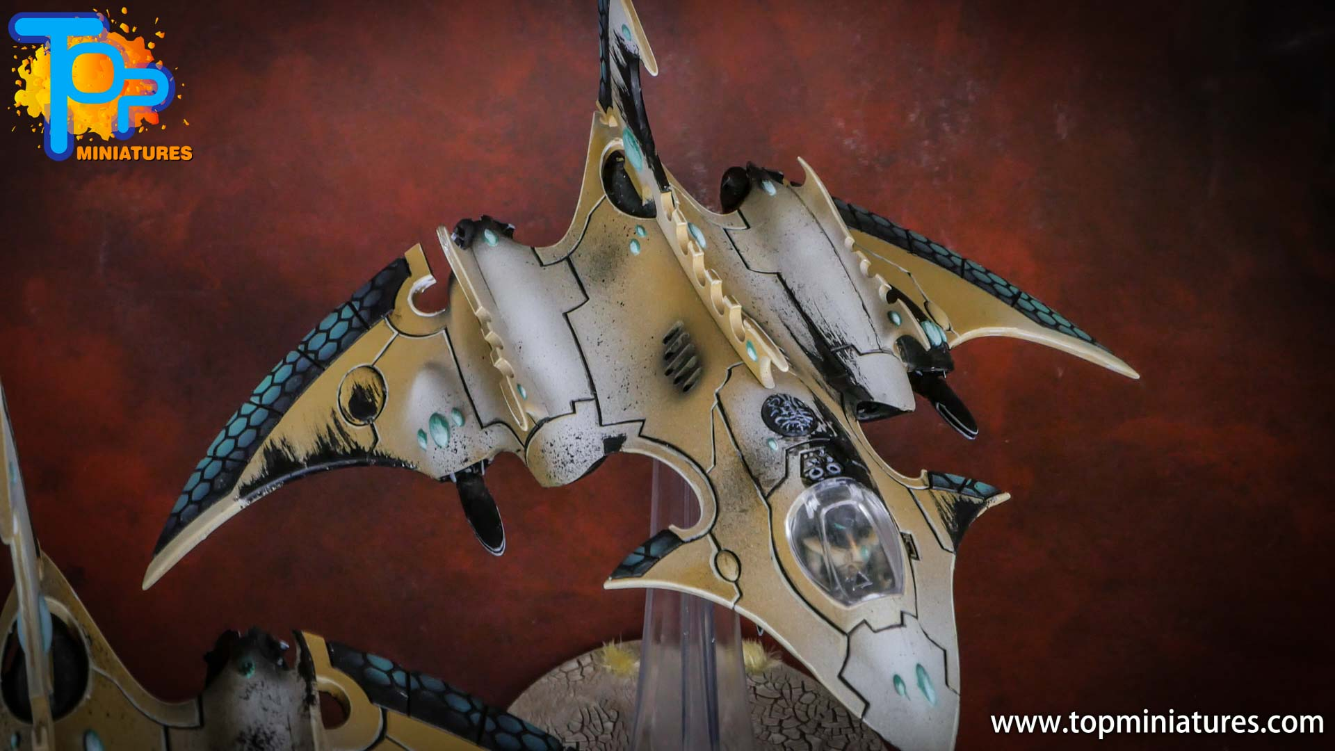 eldar painted hemlock wraithfighter
