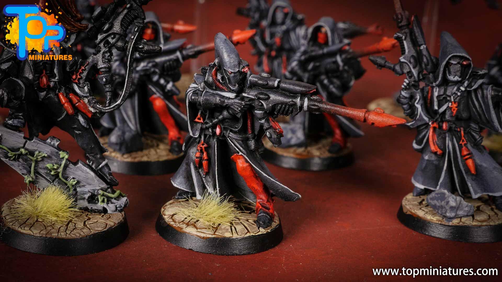 eldar painted rangers (2)