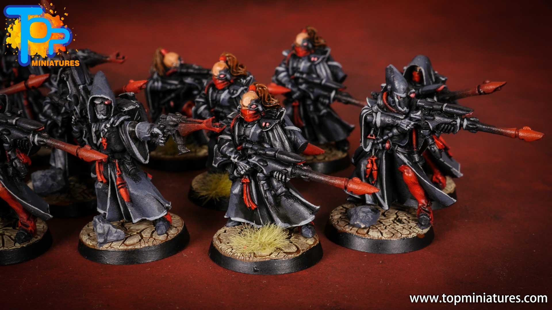 eldar painted rangers (6)