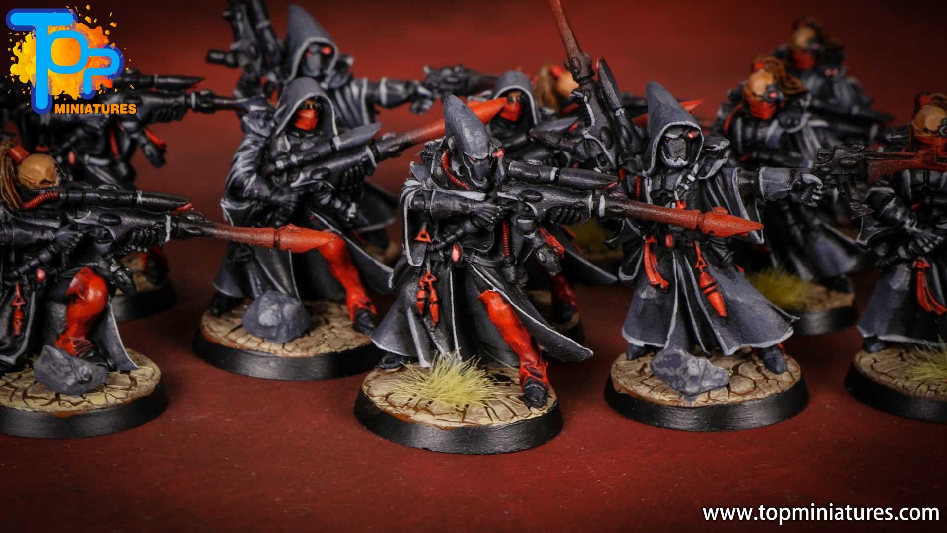 eldar painted rangers (8)