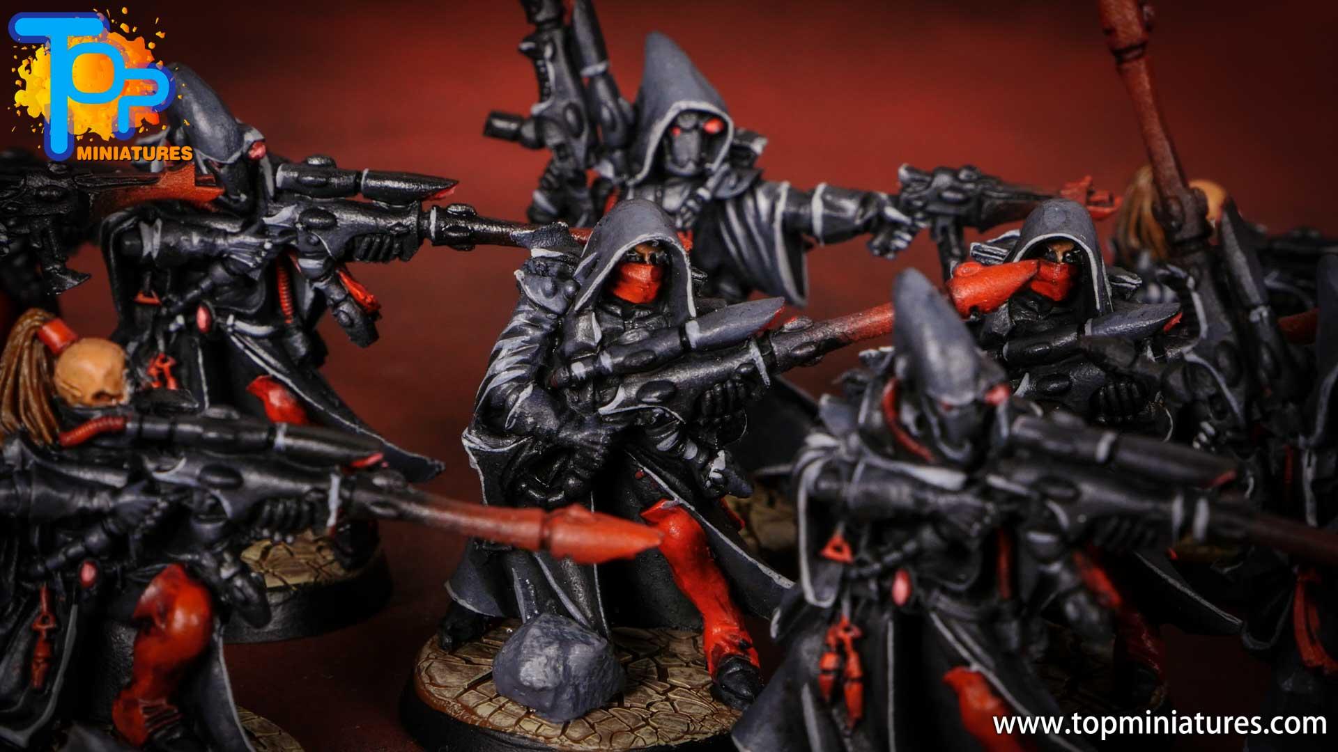 eldar painted rangers (9)
