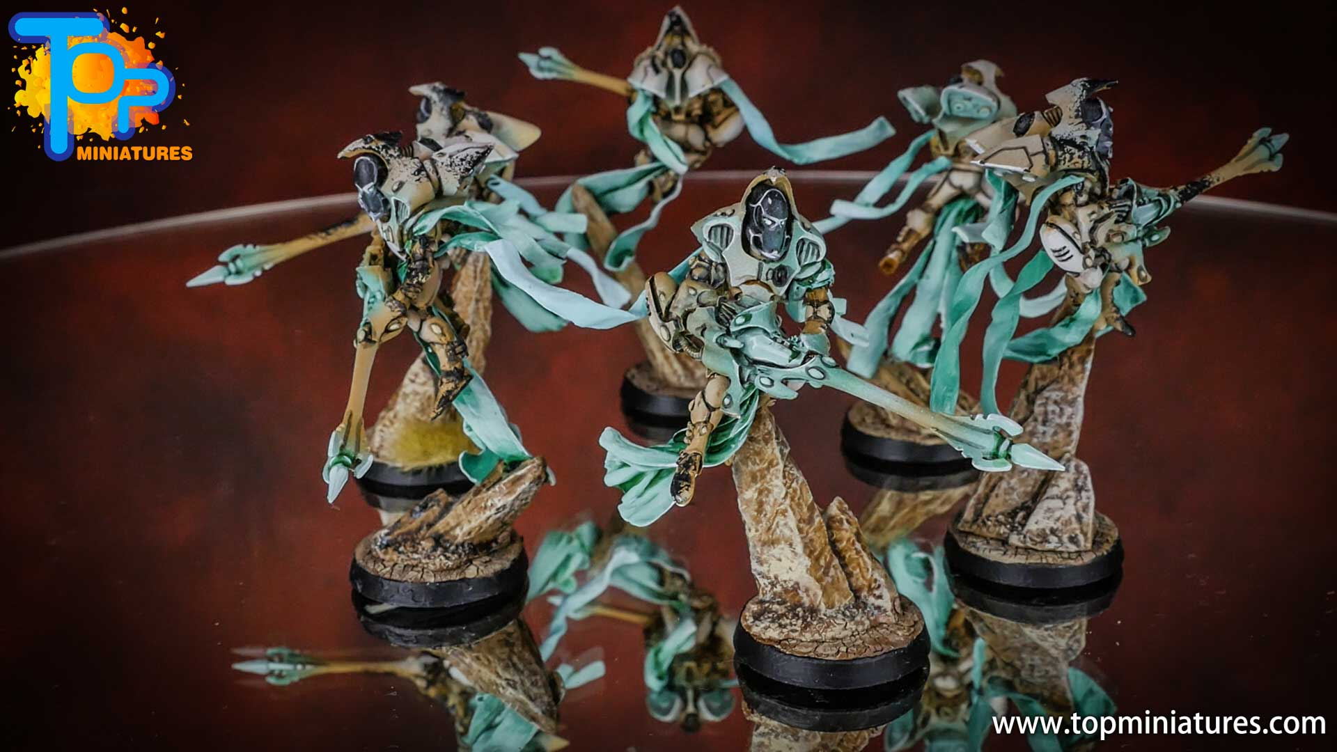eldar painted shadow spectres (4)