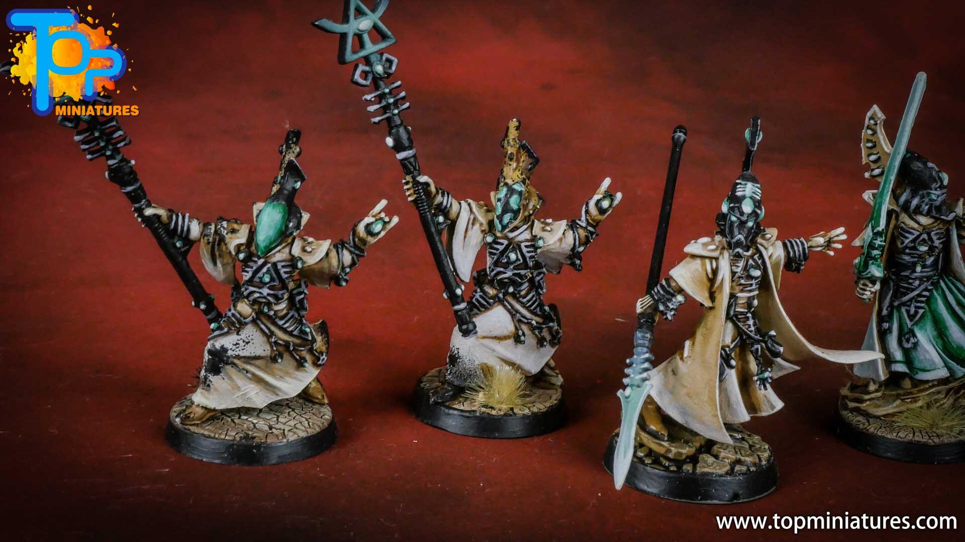 eldar painted spiritseers