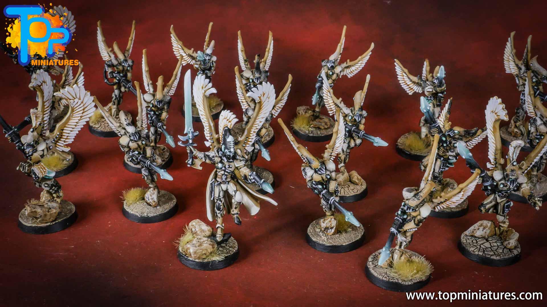 eldar painted swooping hawks (1)