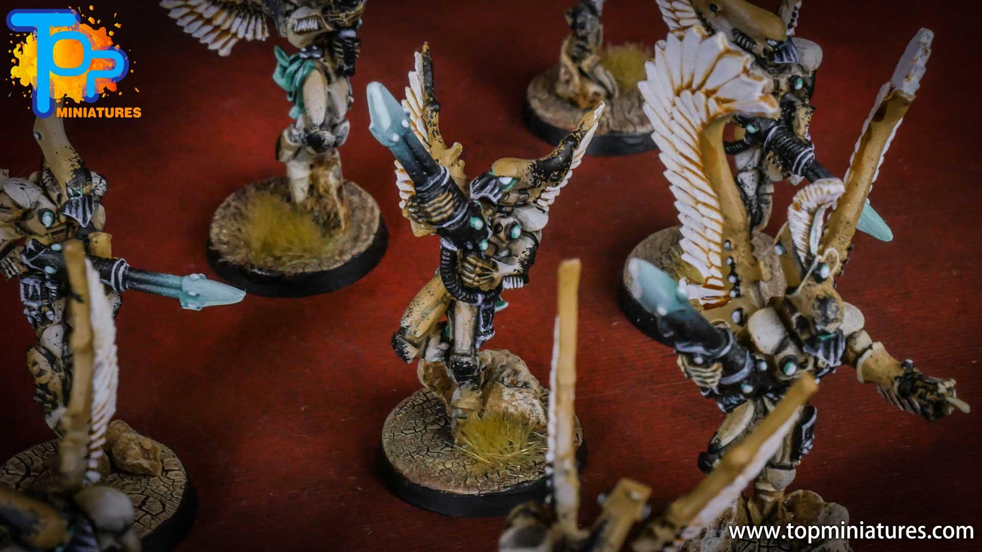 eldar painted swooping hawks (2)