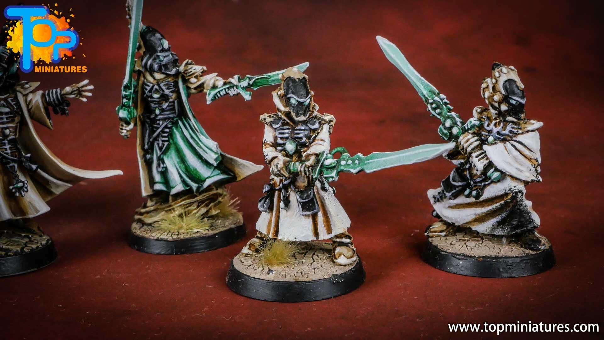 eldar painted warlock