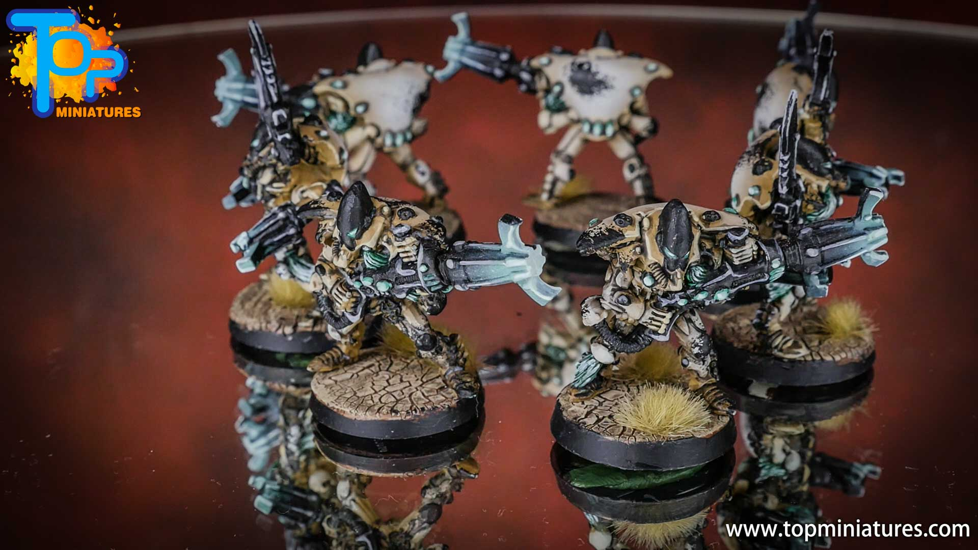 eldar painted warp spiders