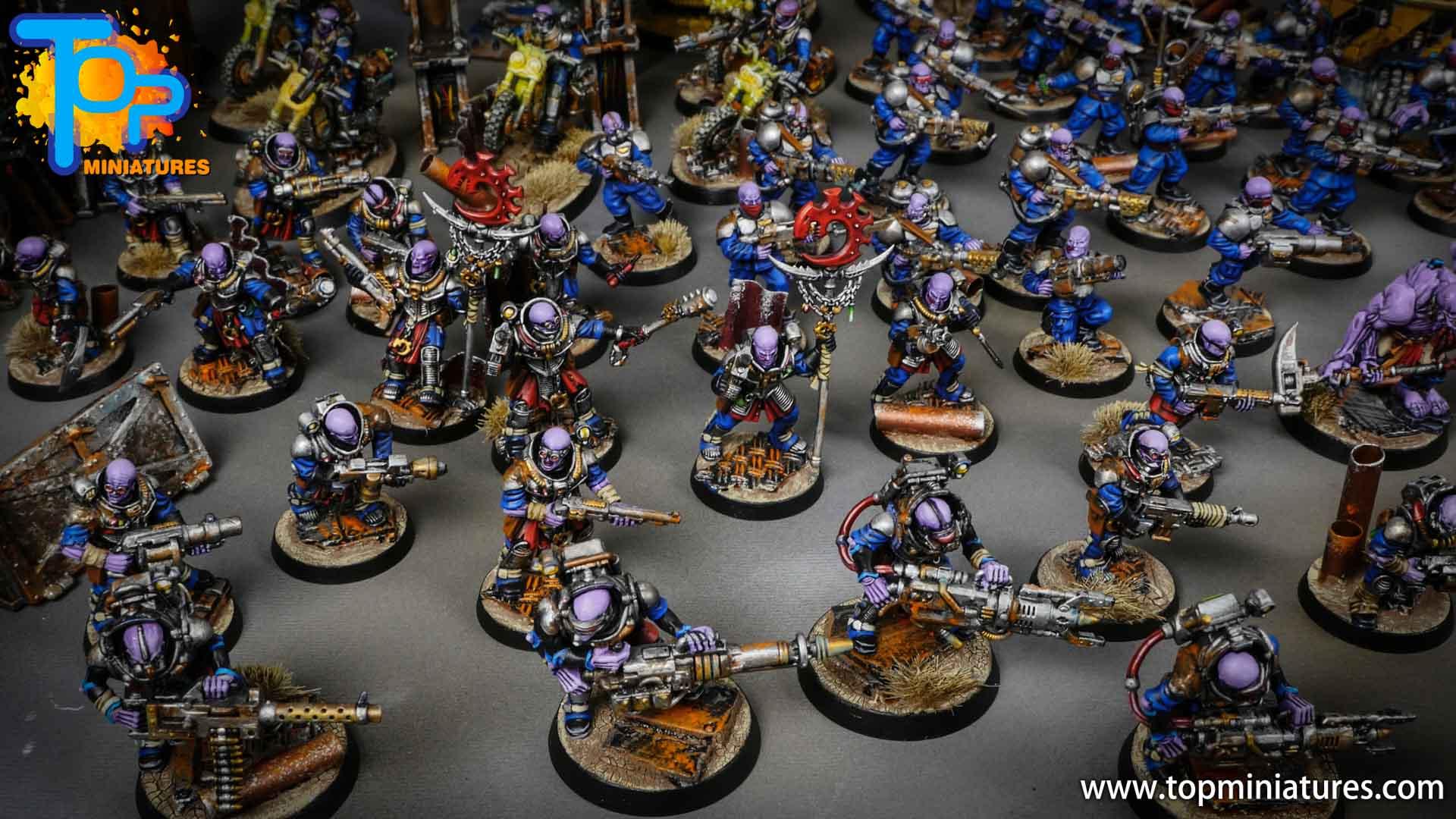 genestealer cults huge painted army (11)