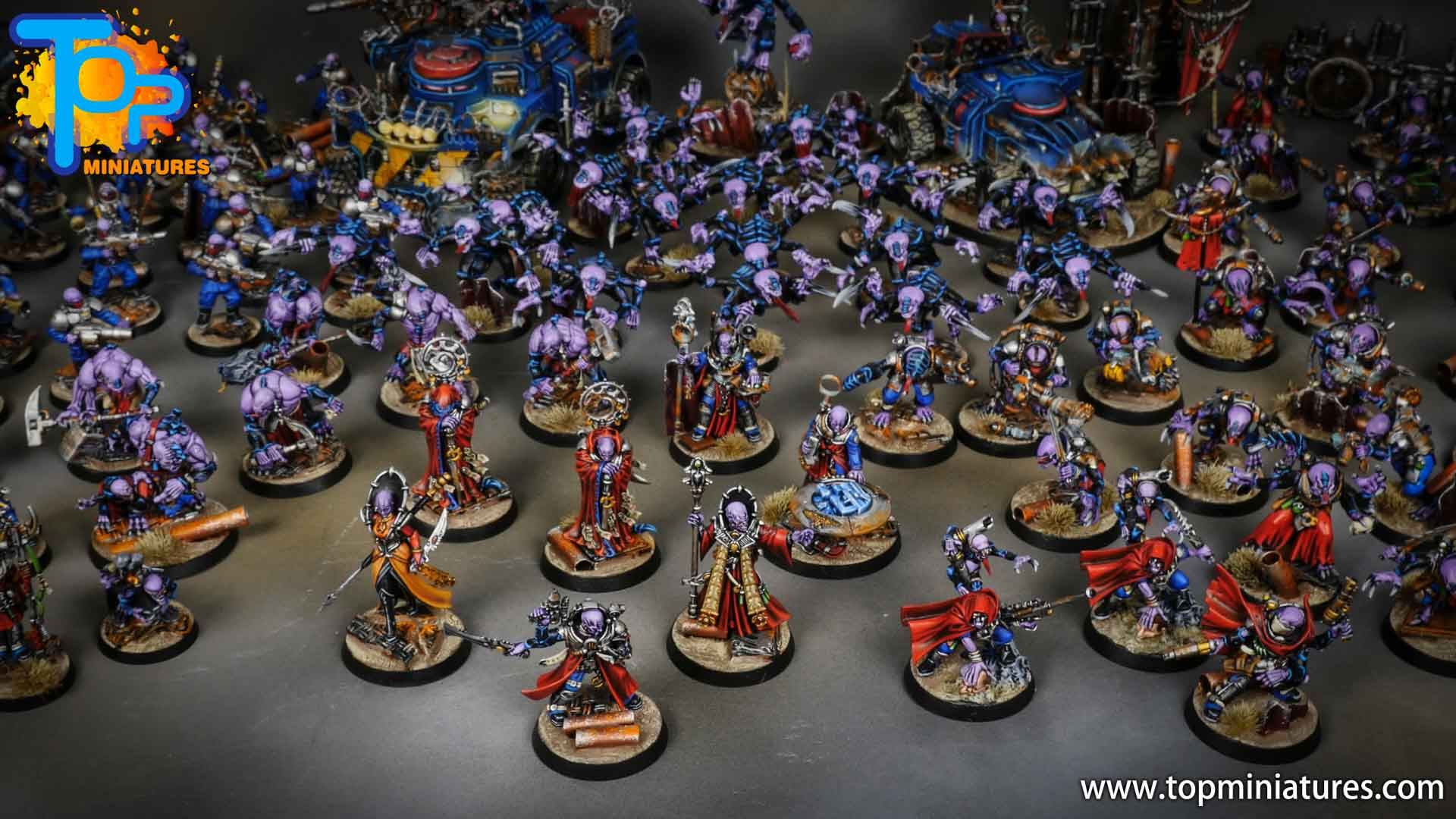 genestealer cults huge painted army (12)