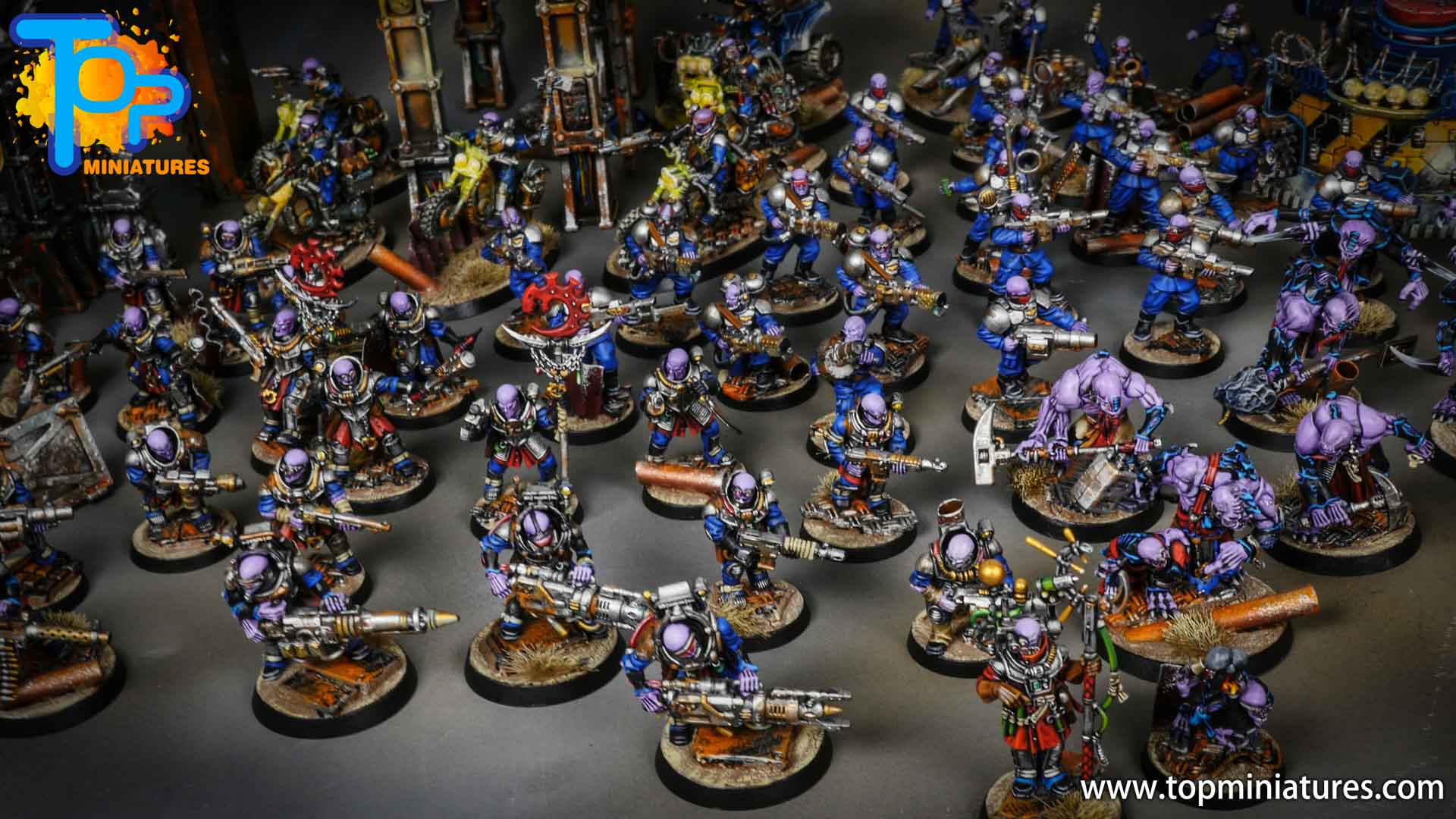 genestealer cults huge painted army (17)