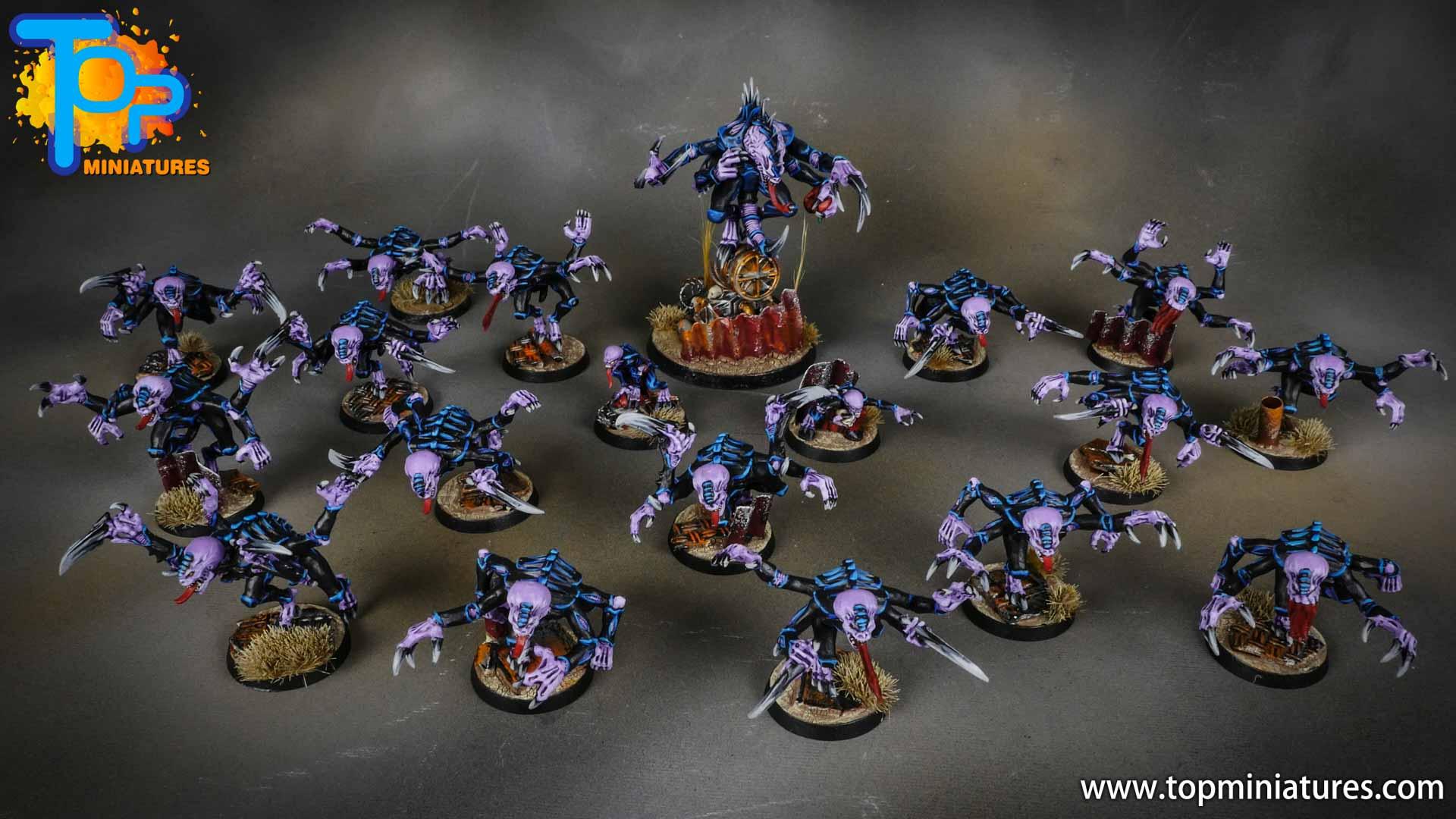 genestealer cults huge painted army (2)