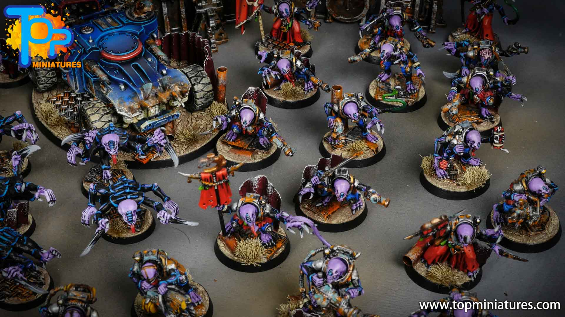genestealer cults huge painted army (7)