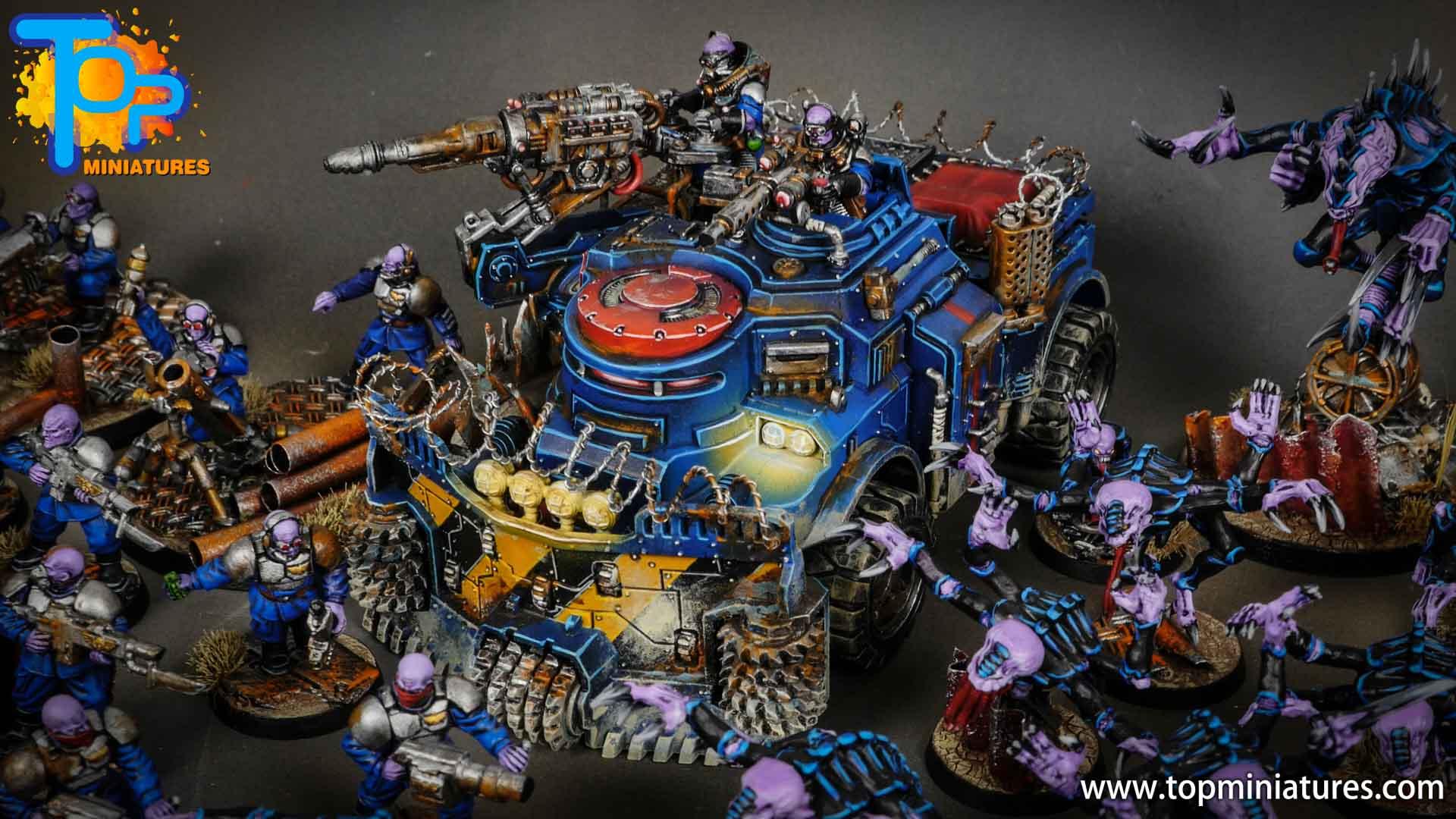 genestealer cults huge painted army (8)