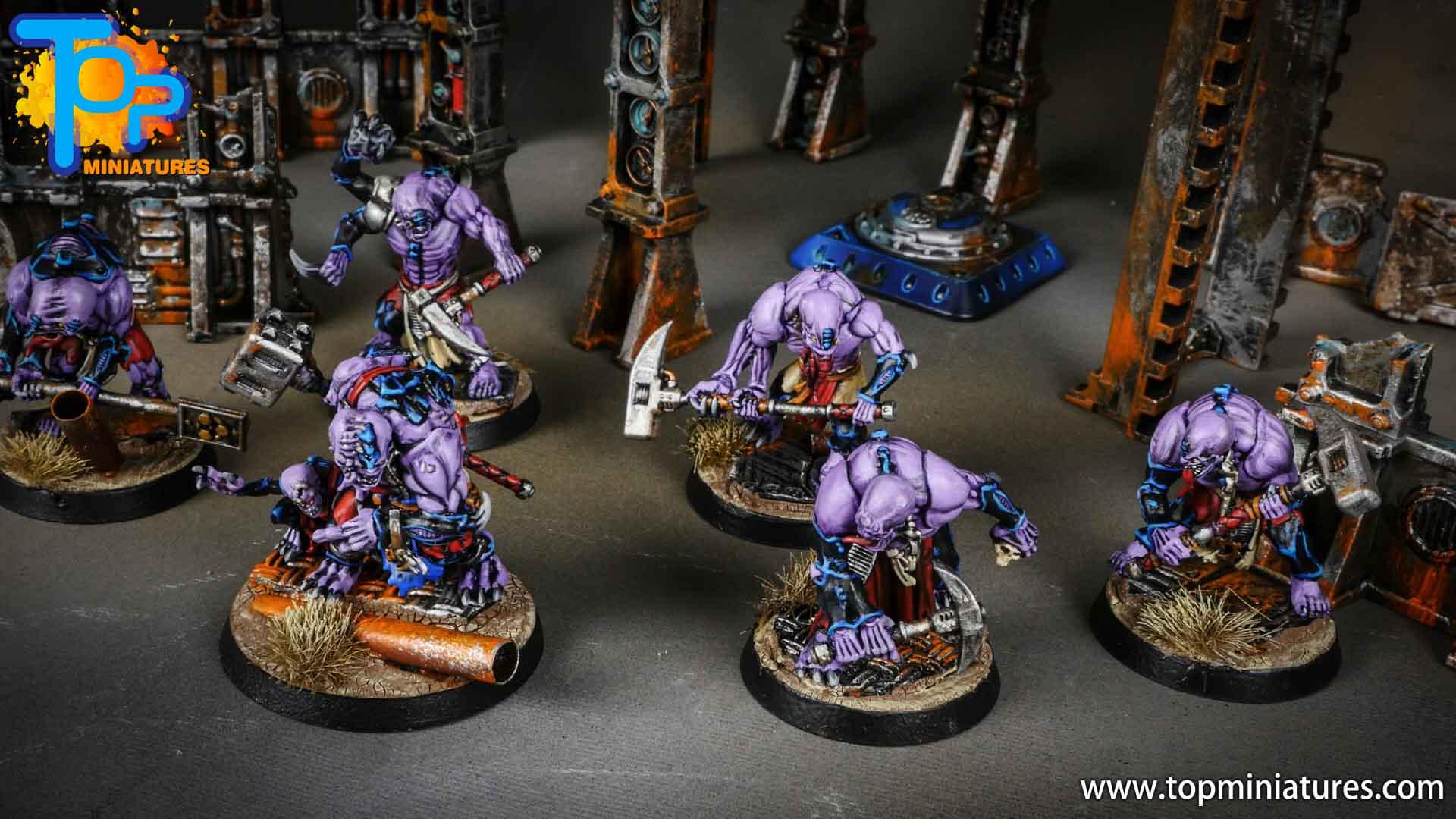 genestealer cults painted aberrants (8)