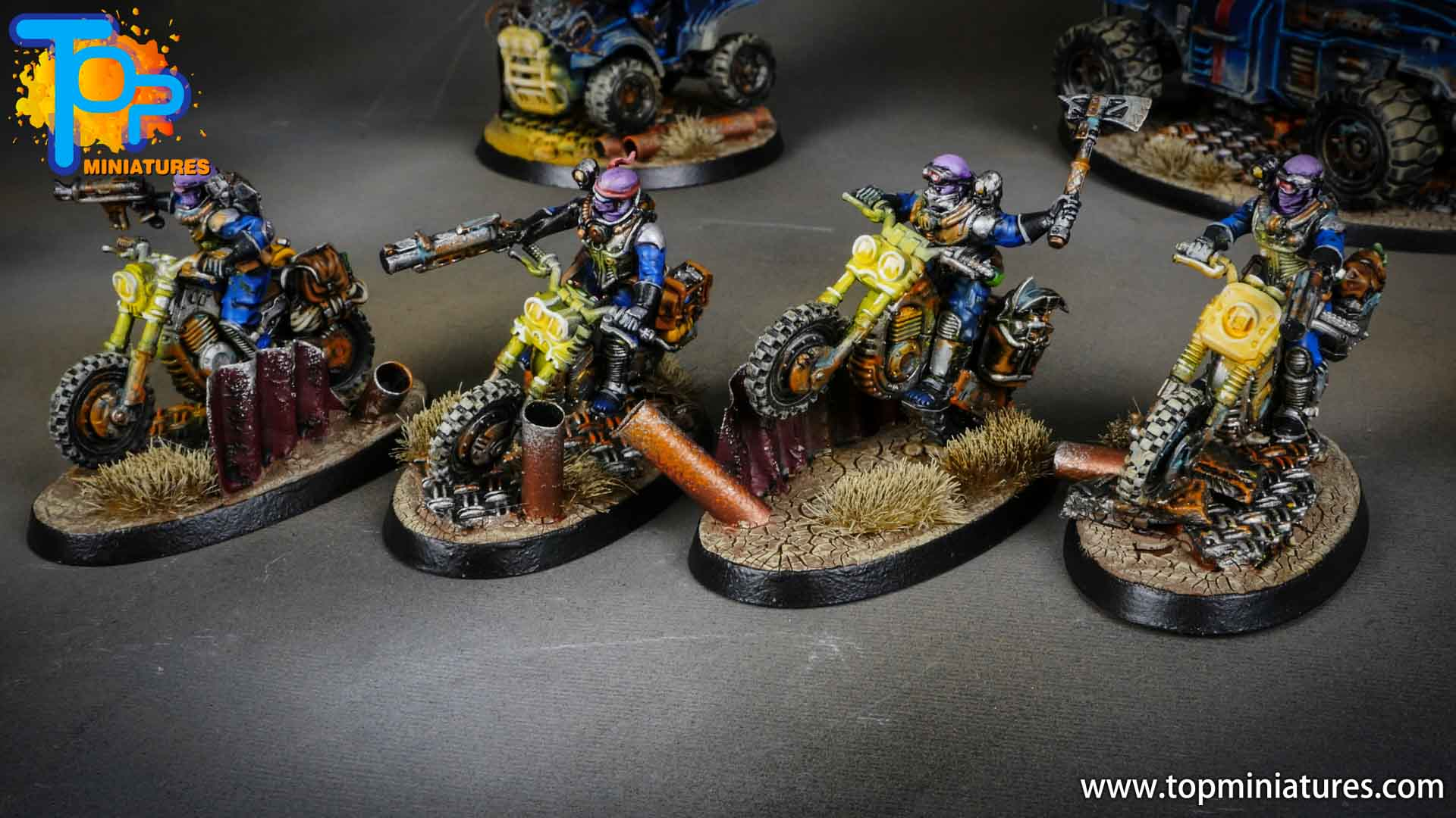 genestealer cults painted atalan jackals (2)