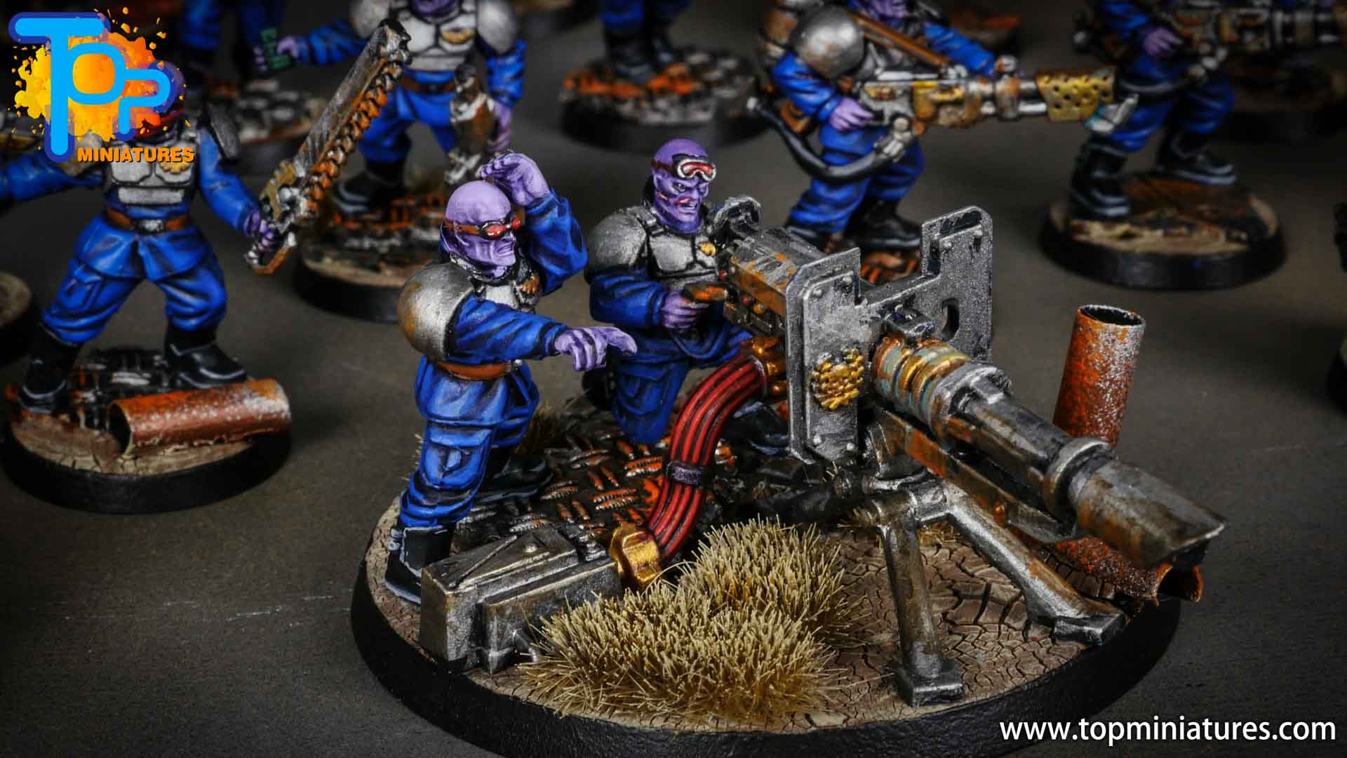 genestealer cults painted brood brothers (2)