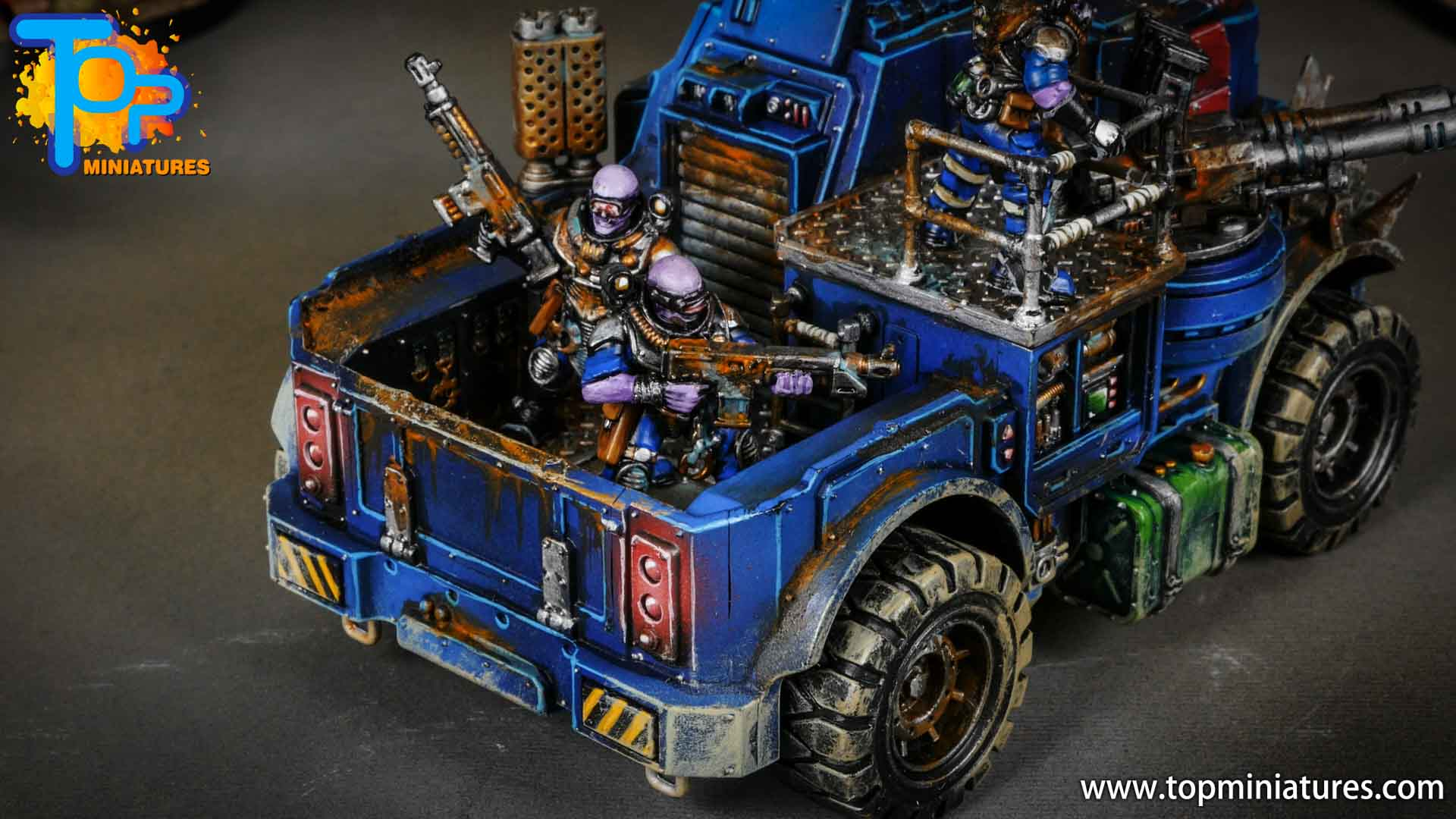 genestealer cults painted goliath truck (9)