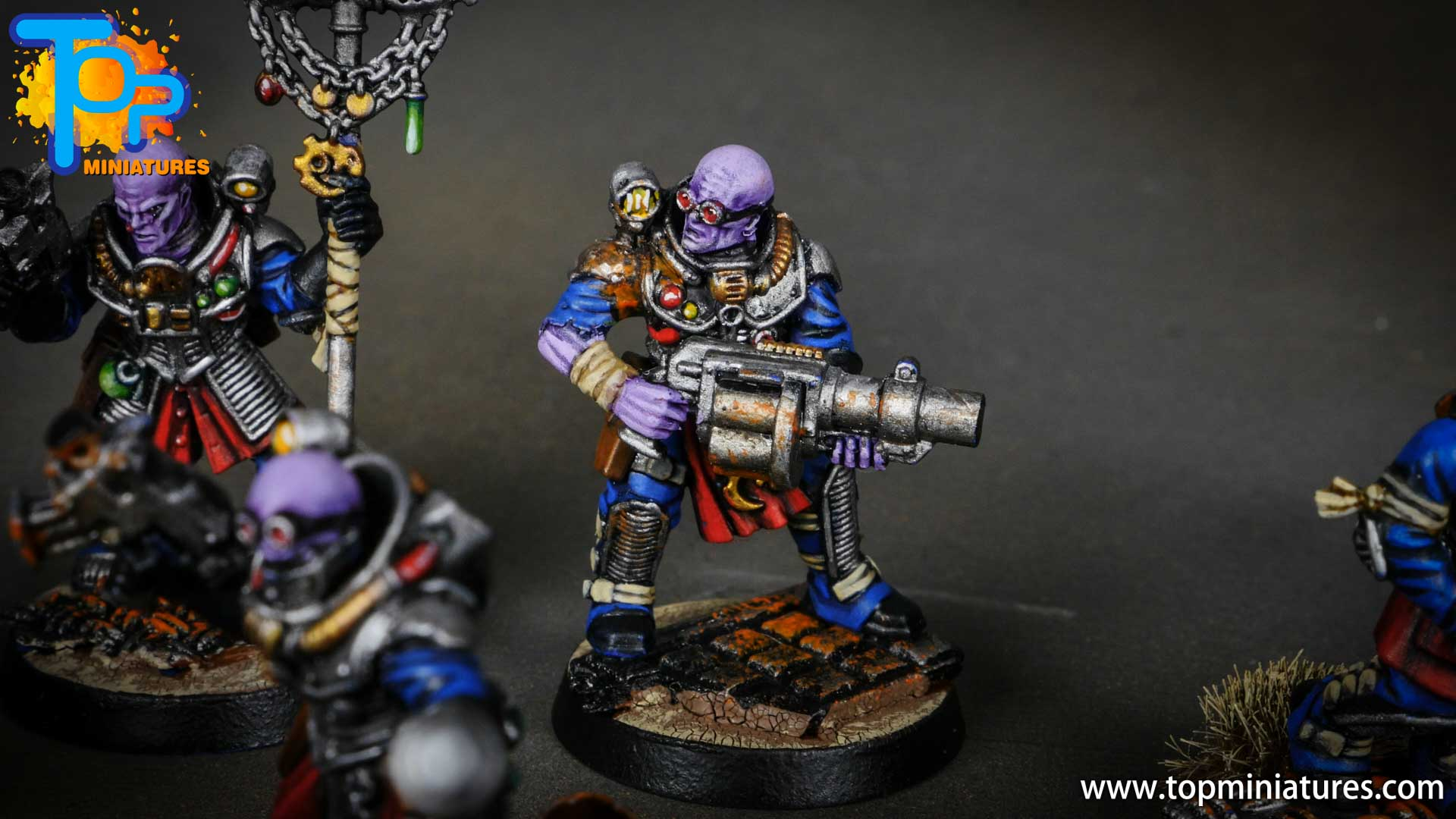 genestealer cults painted neophyte hybrids (11)