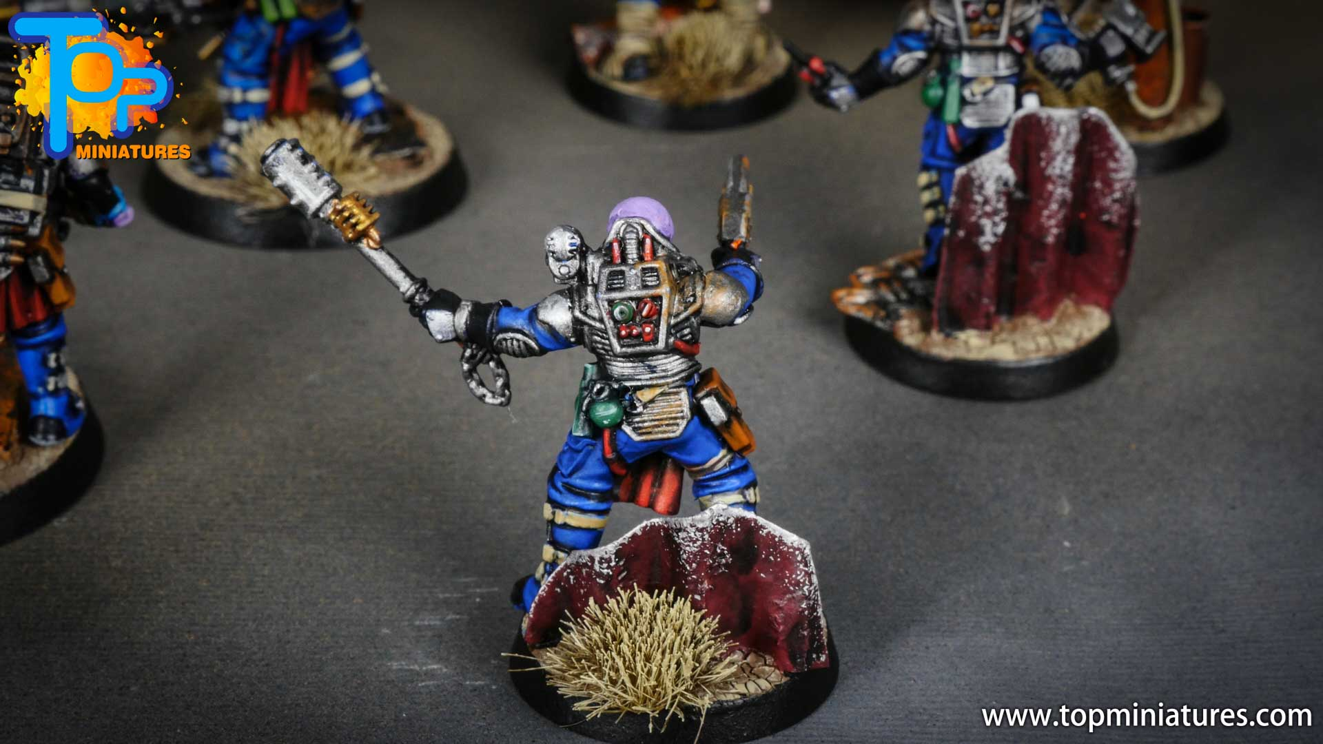 genestealer cults painted neophyte hybrids (15)