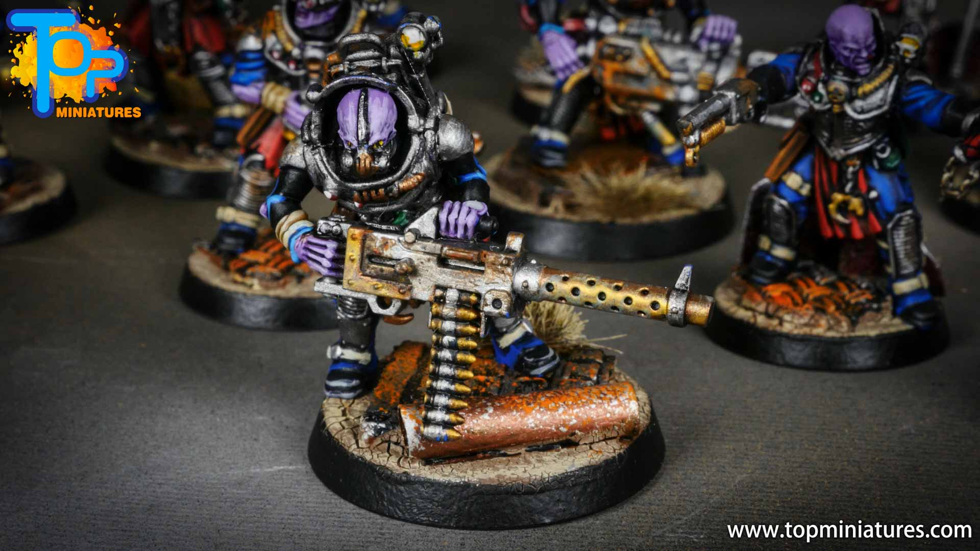 genestealer cults painted neophyte hybrids (2)