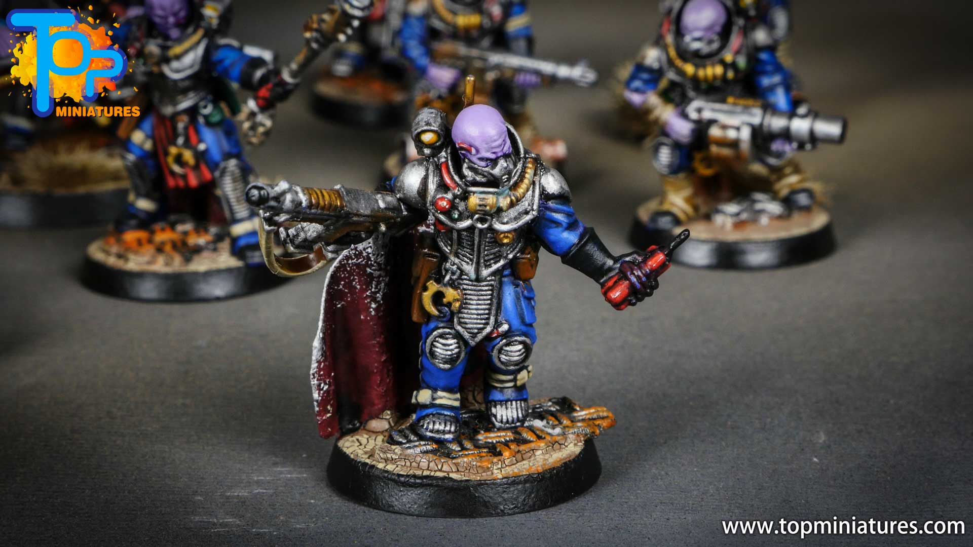genestealer cults painted neophyte hybrids (6)