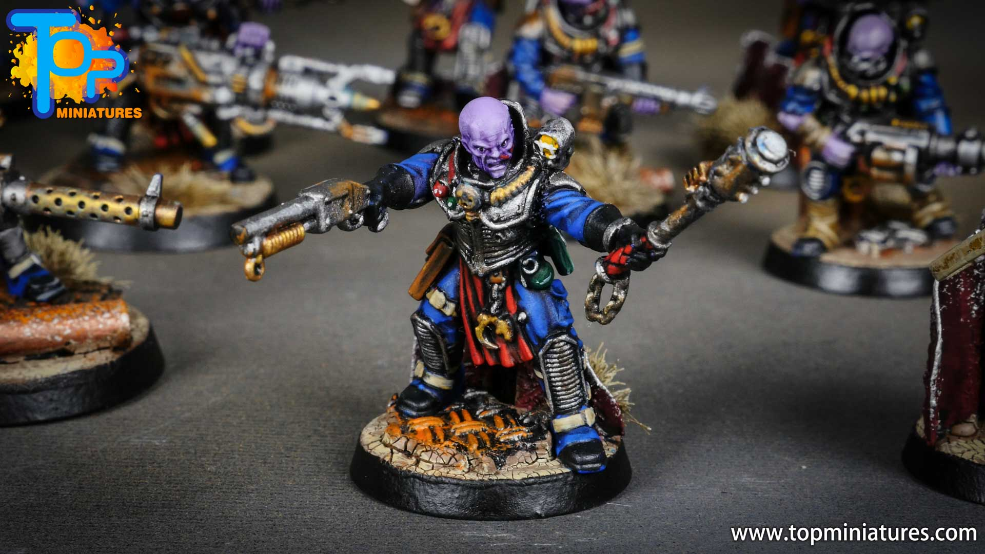 genestealer cults painted neophyte hybrids (7)