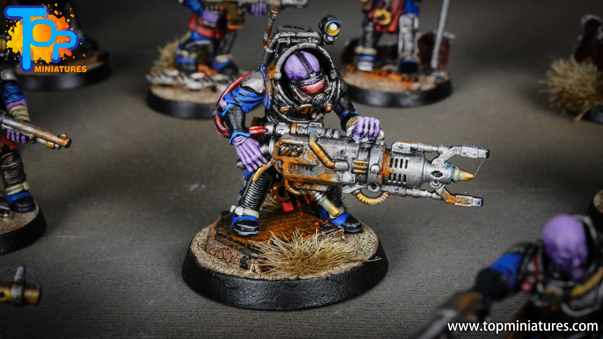 genestealer cults painted neophyte hybrids (9)