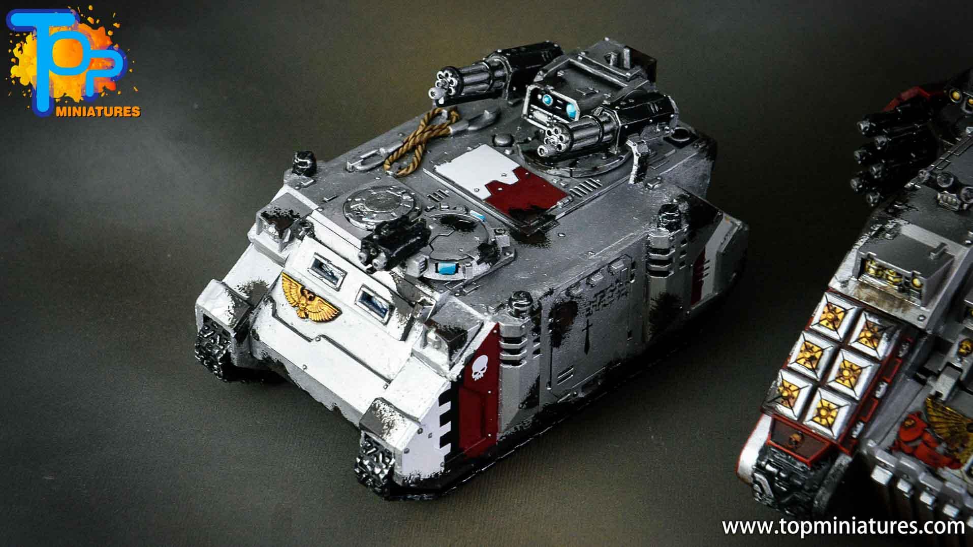 grey knights razorback assault cannon (3)