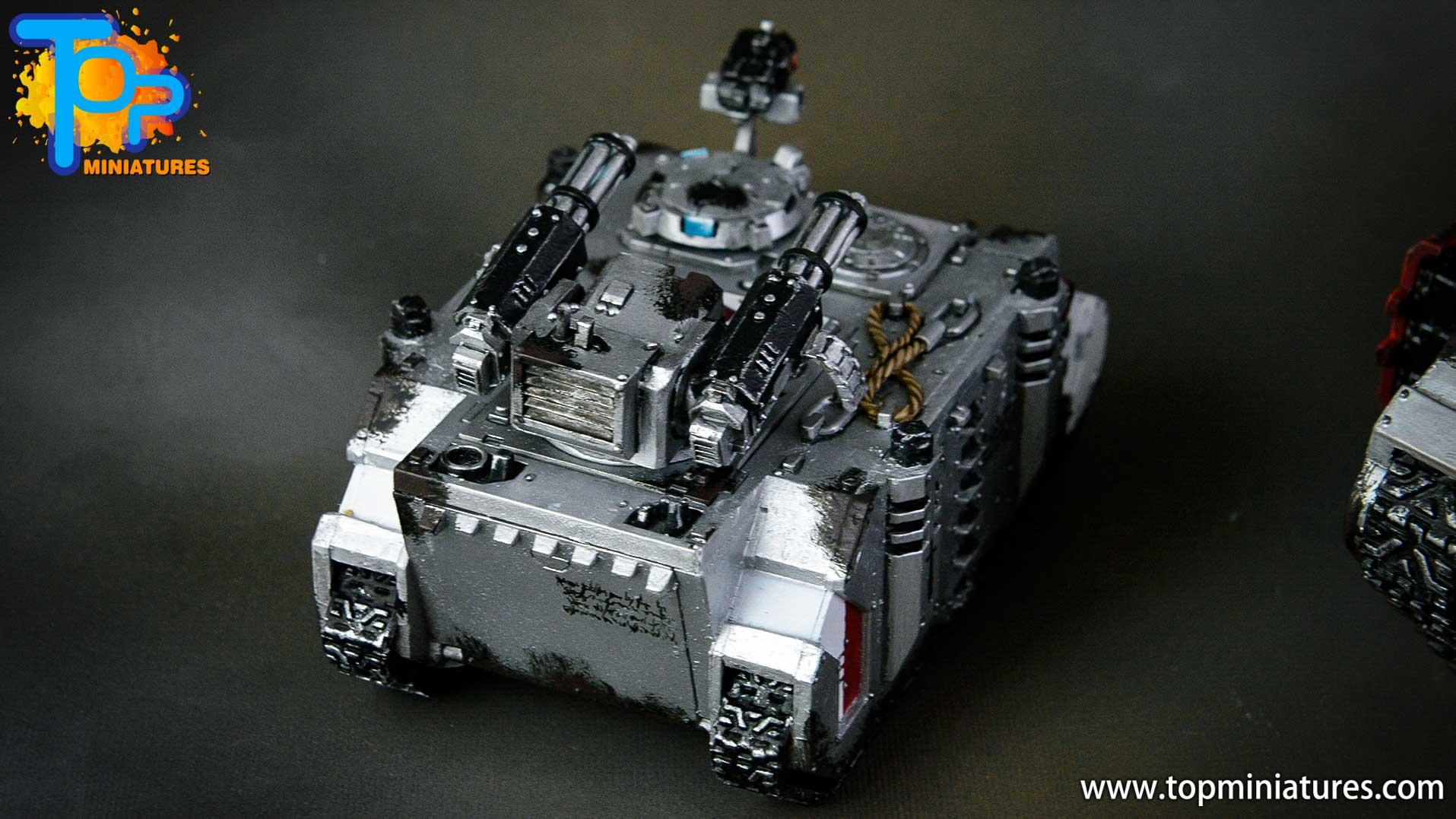 grey knights razorback assault cannon (5)