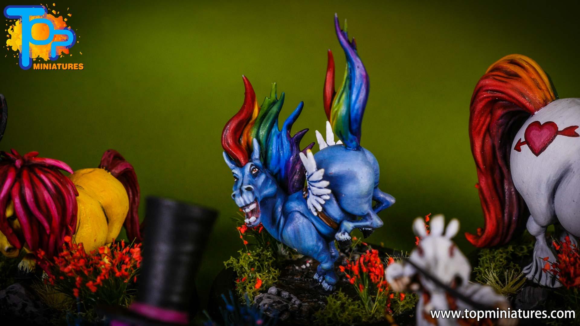 malifaux Unicorn vomit & pixie farts (5)