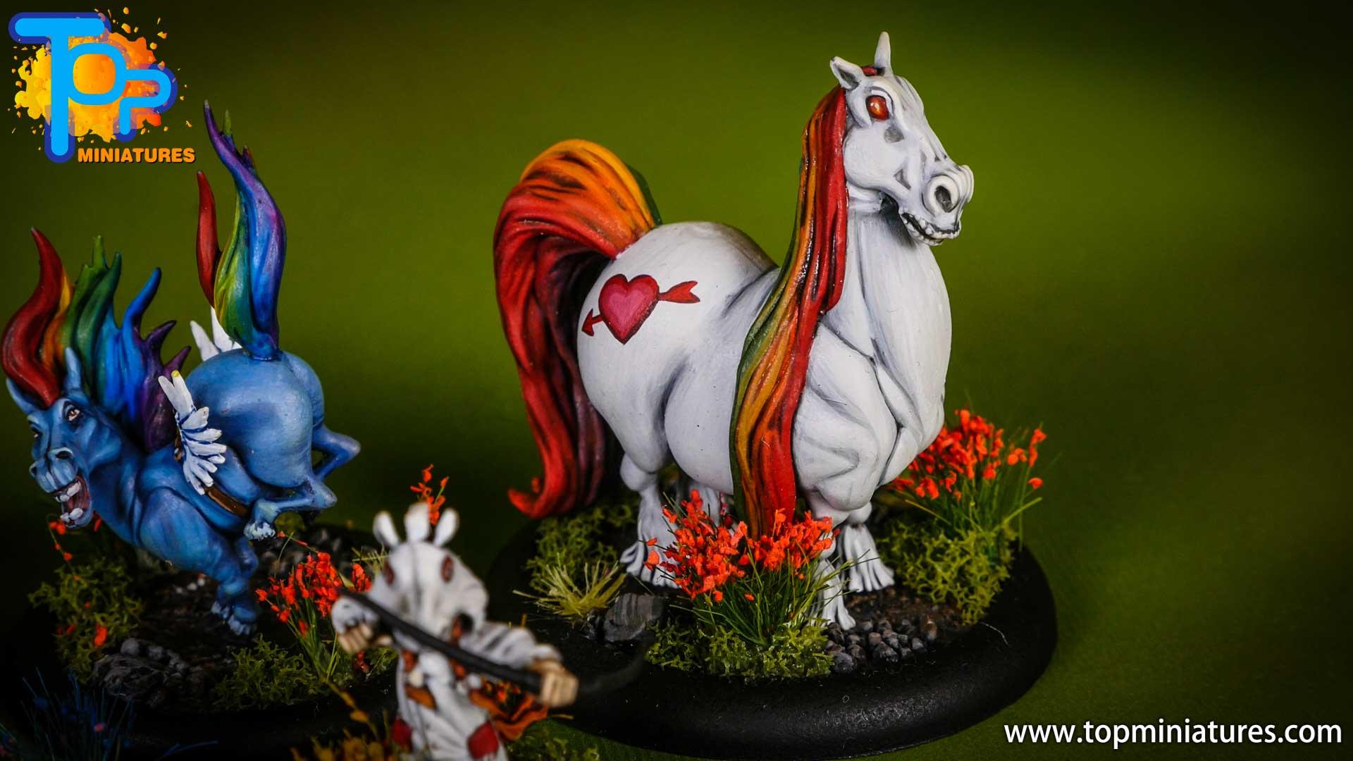 malifaux Unicorn vomit & pixie farts (6)