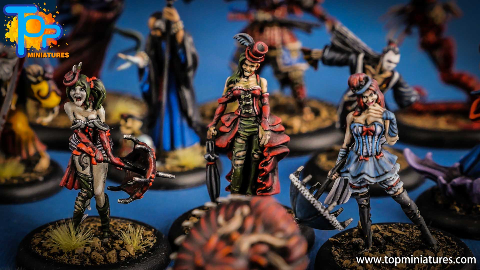 malifaux the resurrectionists Rotten Belles (1)