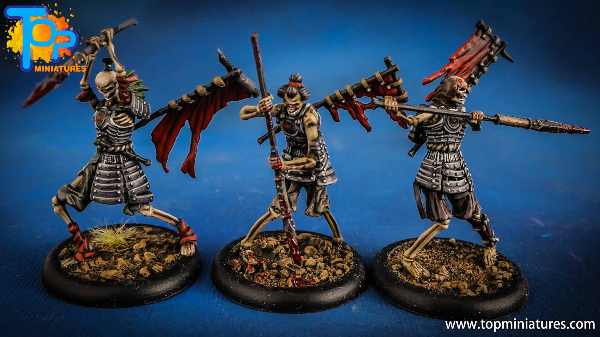 malifaux the resurrectionists painted Ashigaru (1)