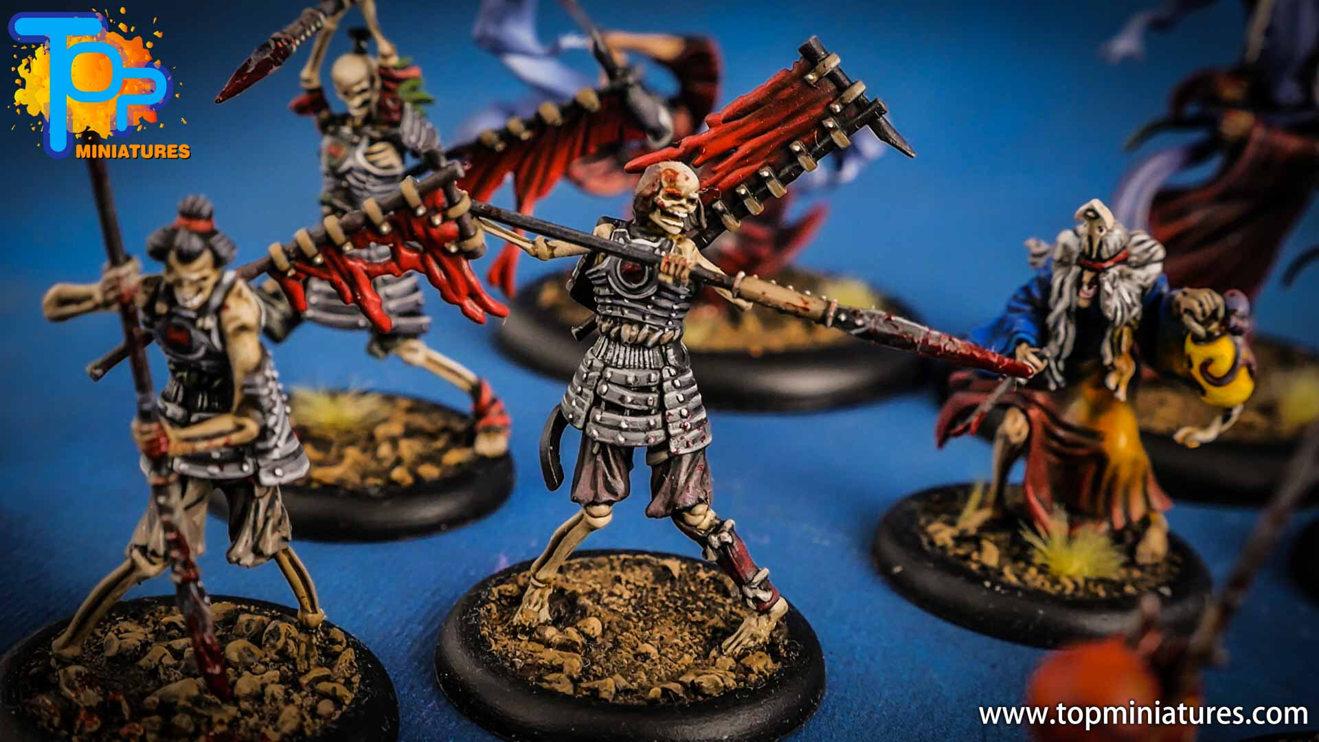 malifaux the resurrectionists painted Ashigaru (2)