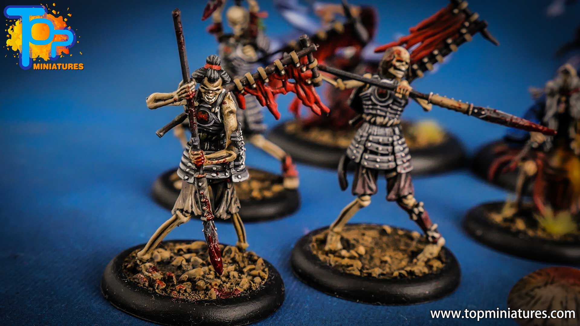 malifaux the resurrectionists painted Ashigaru (3)