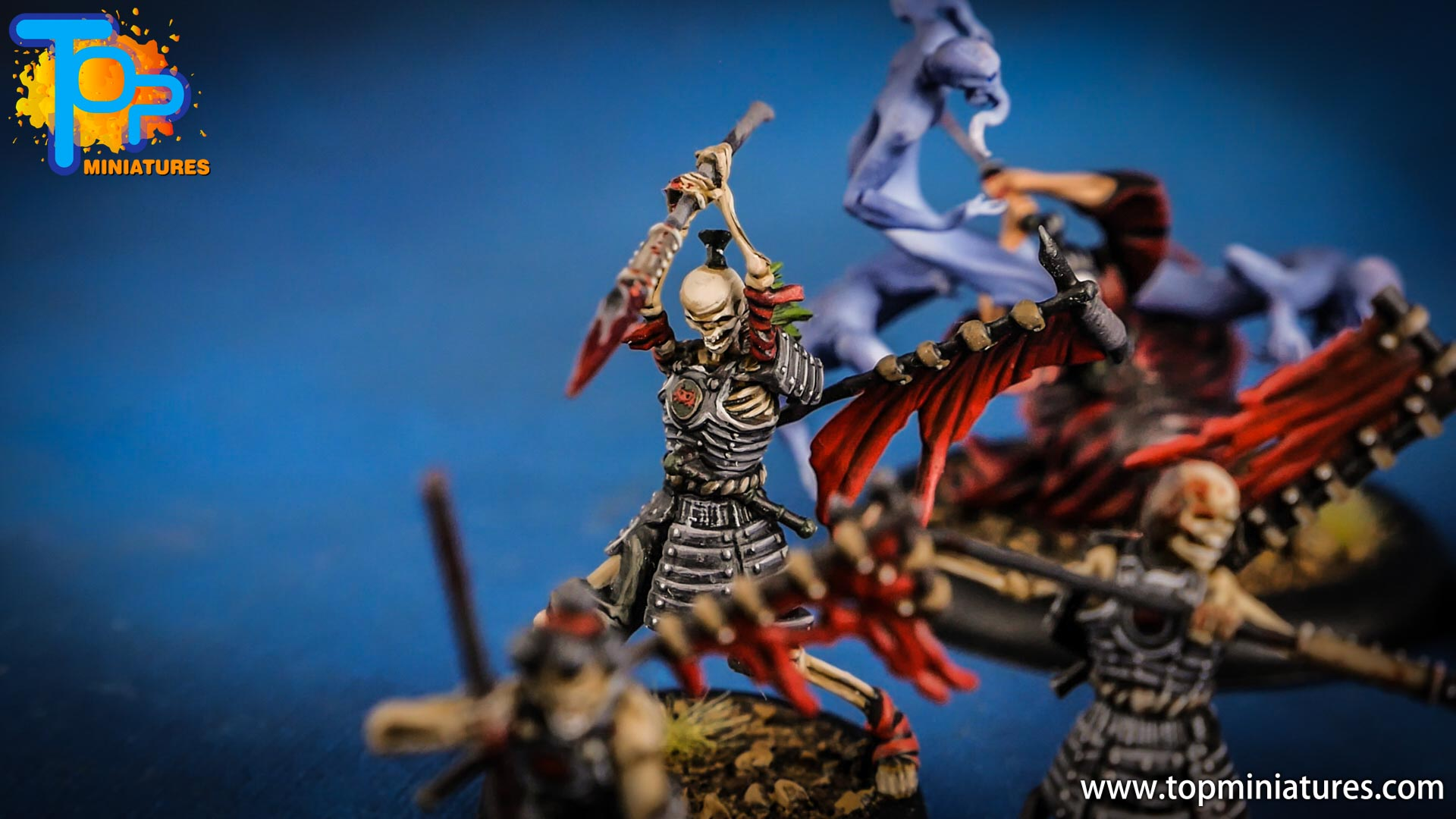 malifaux the resurrectionists painted Ashigaru (4)
