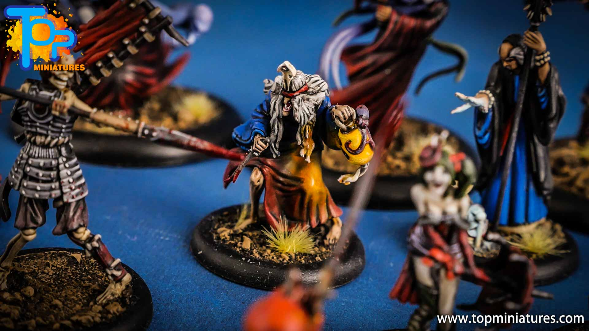 malifaux the resurrectionists painted Datsue Ba