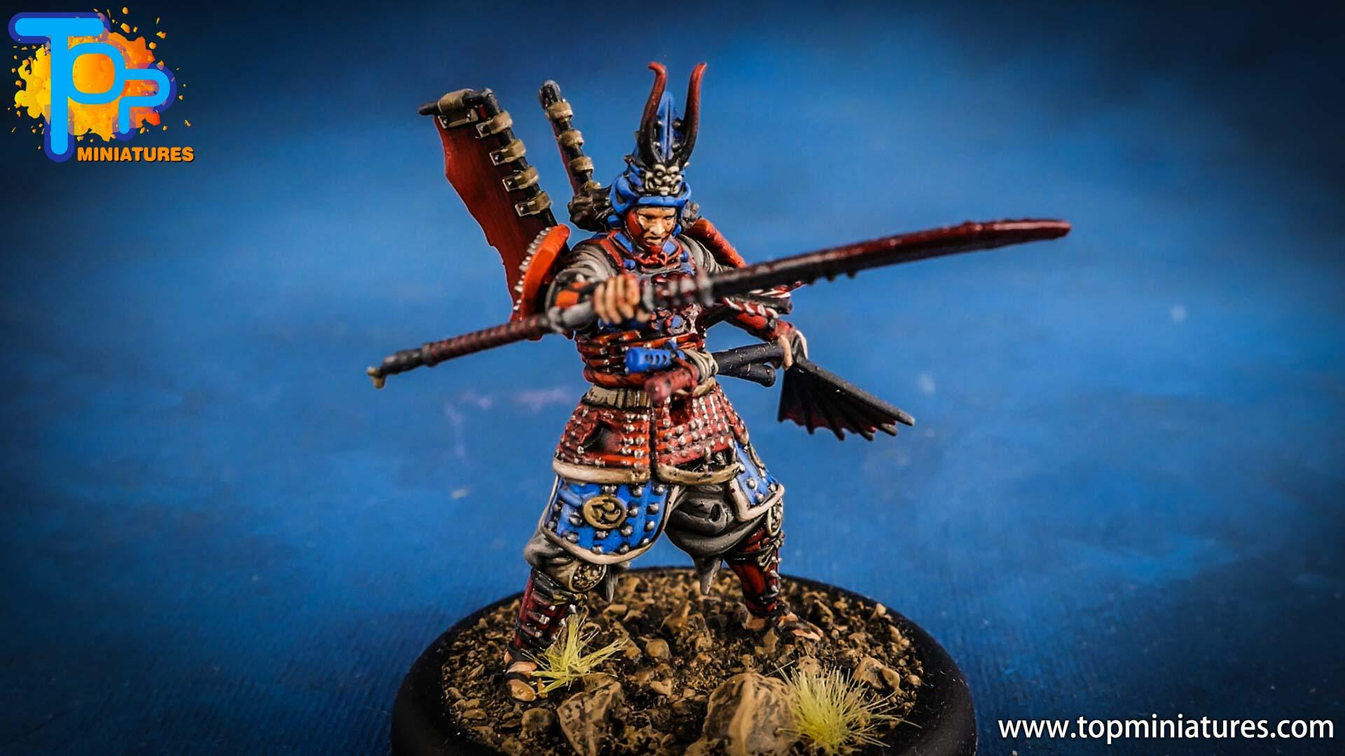 malifaux the resurrectionists painted Izamu the Armor (2)