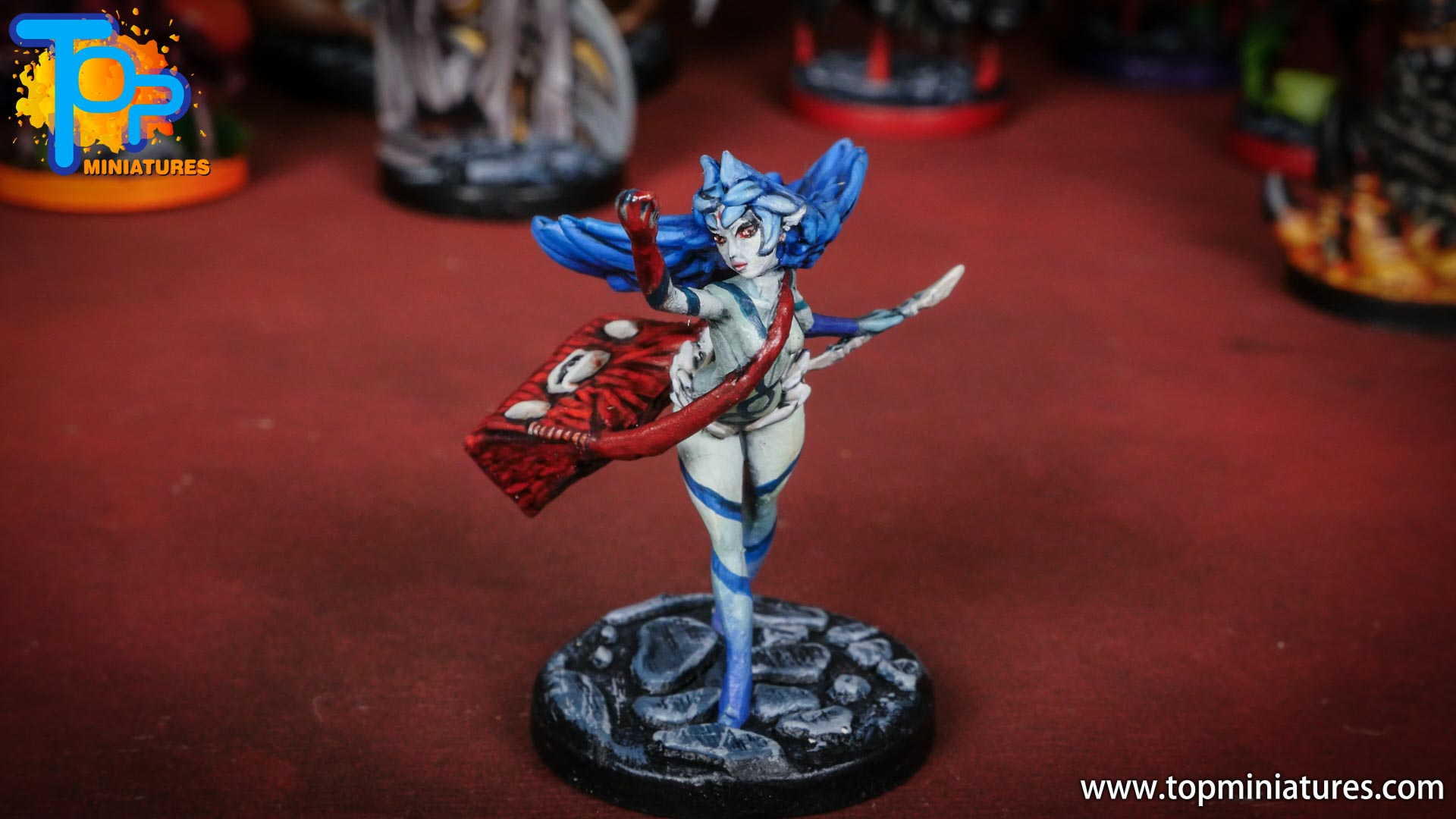 middara painted miniatures Eliphie (1)