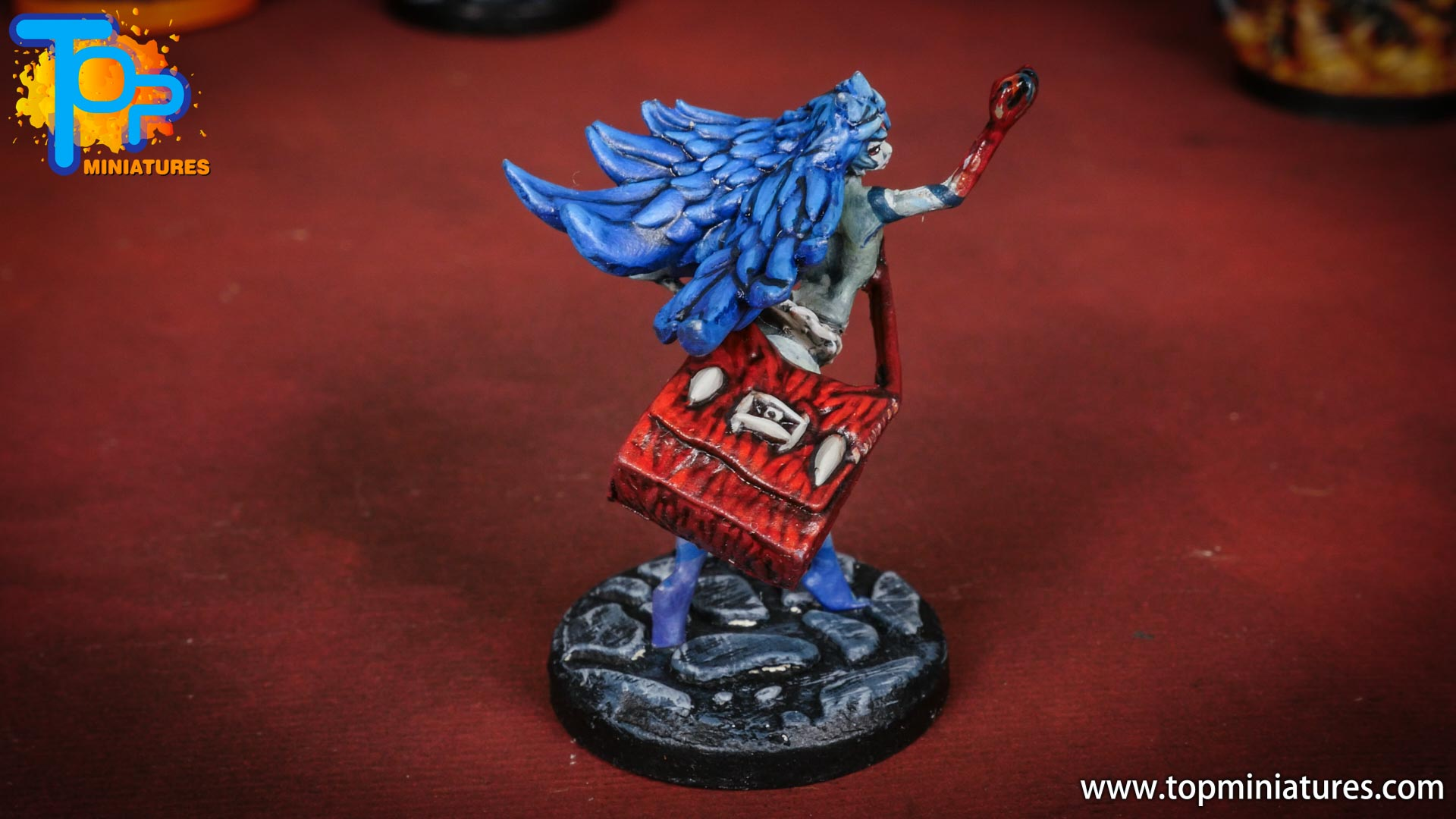 middara painted miniatures Eliphie (2)