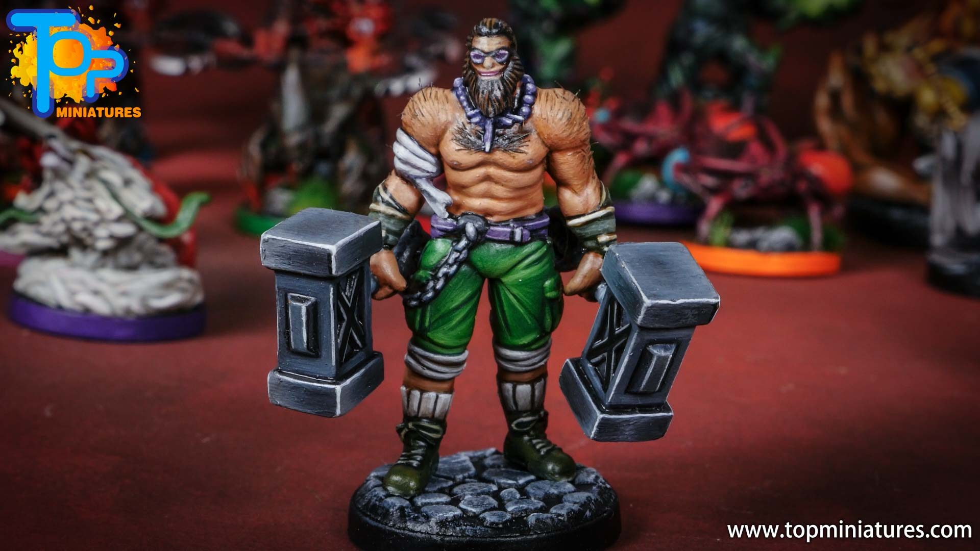middara painted miniatures Rook (1)