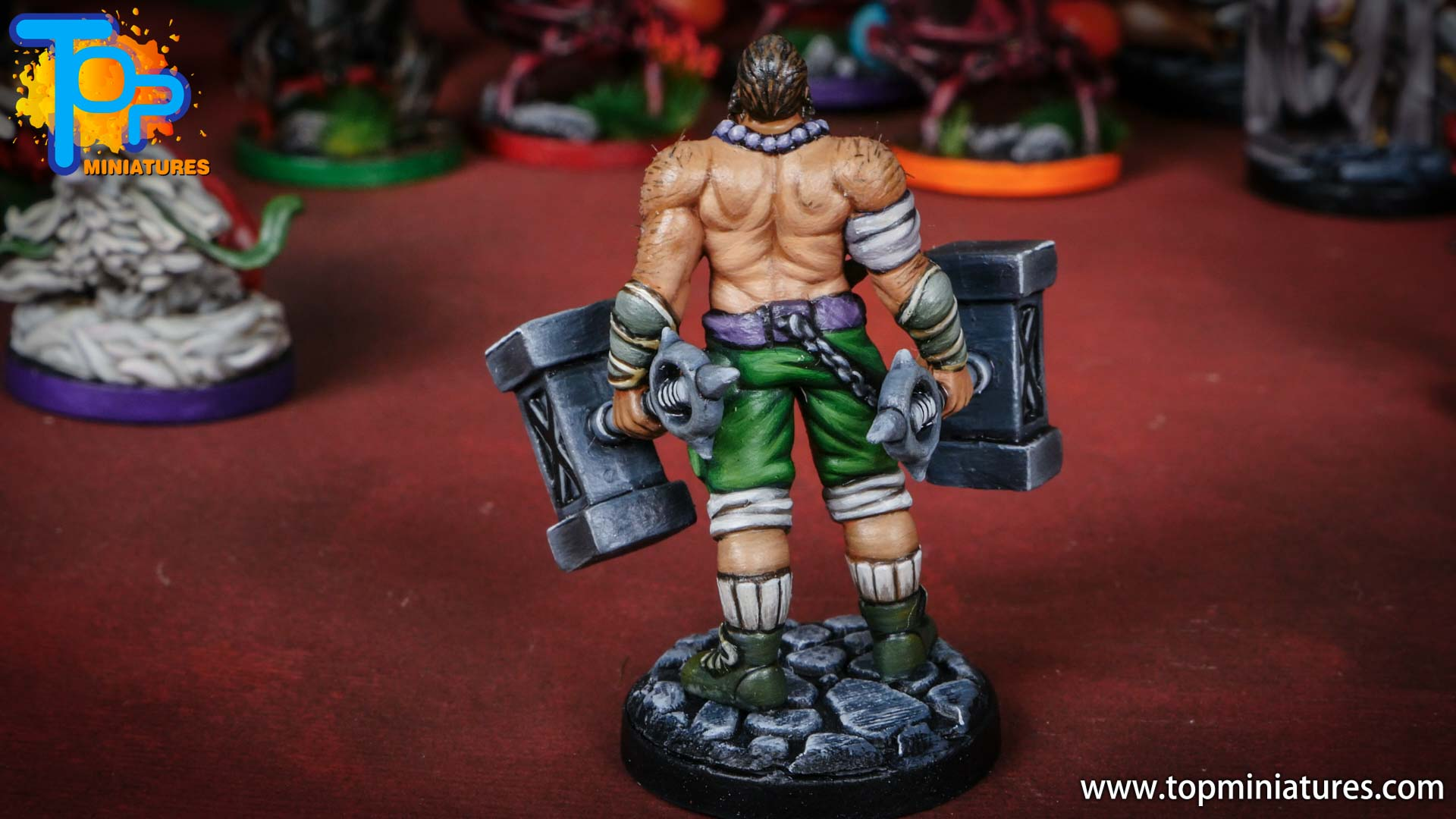middara painted miniatures Rook (2)
