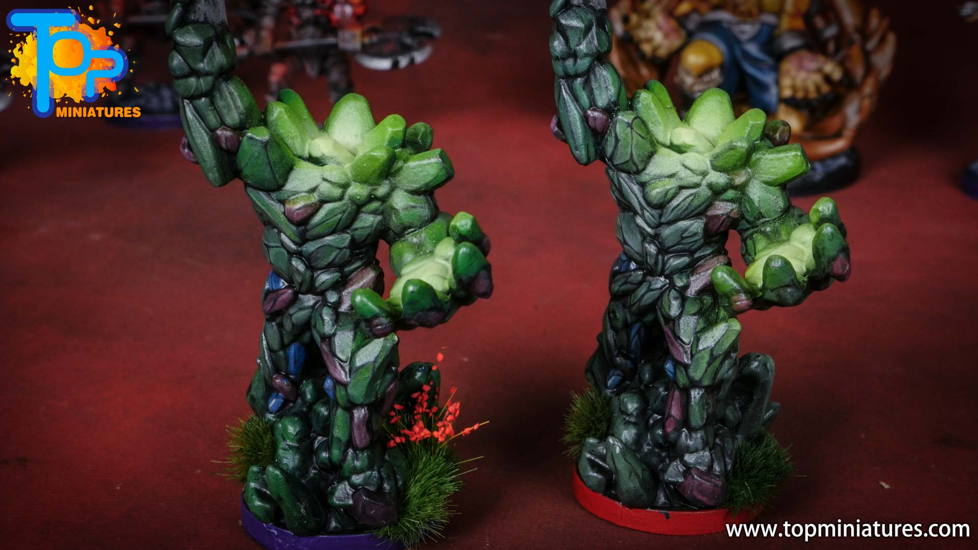 middara painted miniatures earth loa (1)