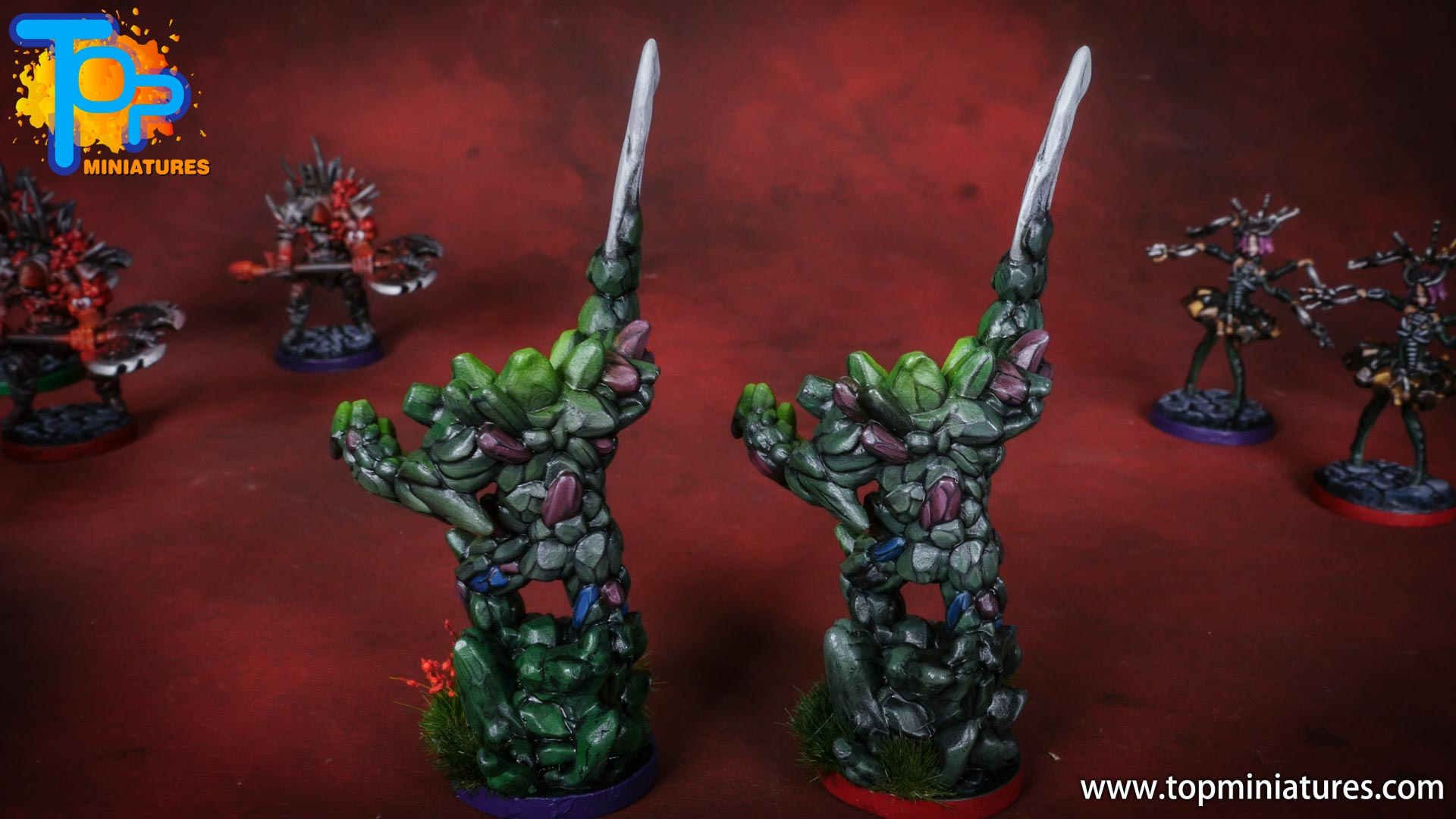 middara painted miniatures earth loa (2)
